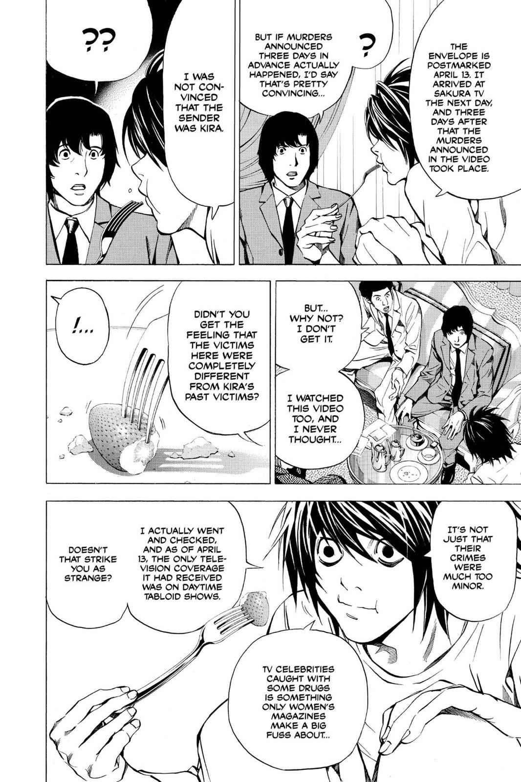 Death Note Chapter 25 Page 10