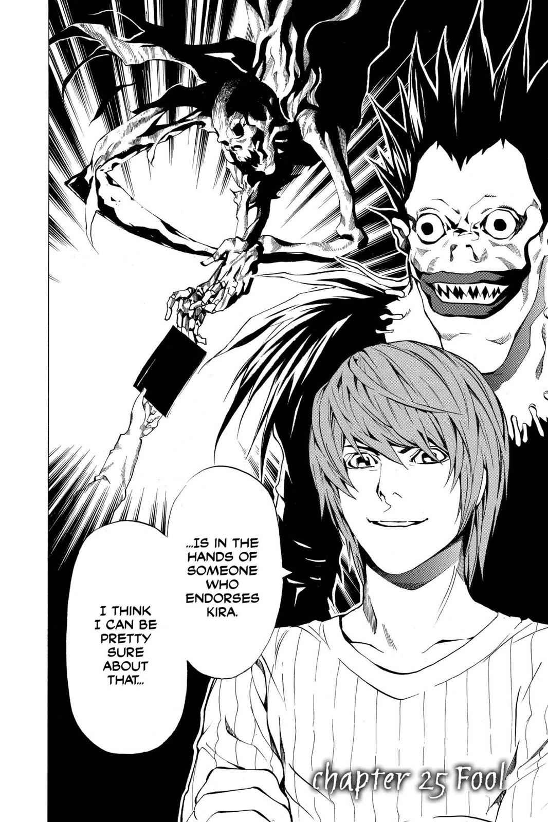 Death Note Chapter 25 Page 2