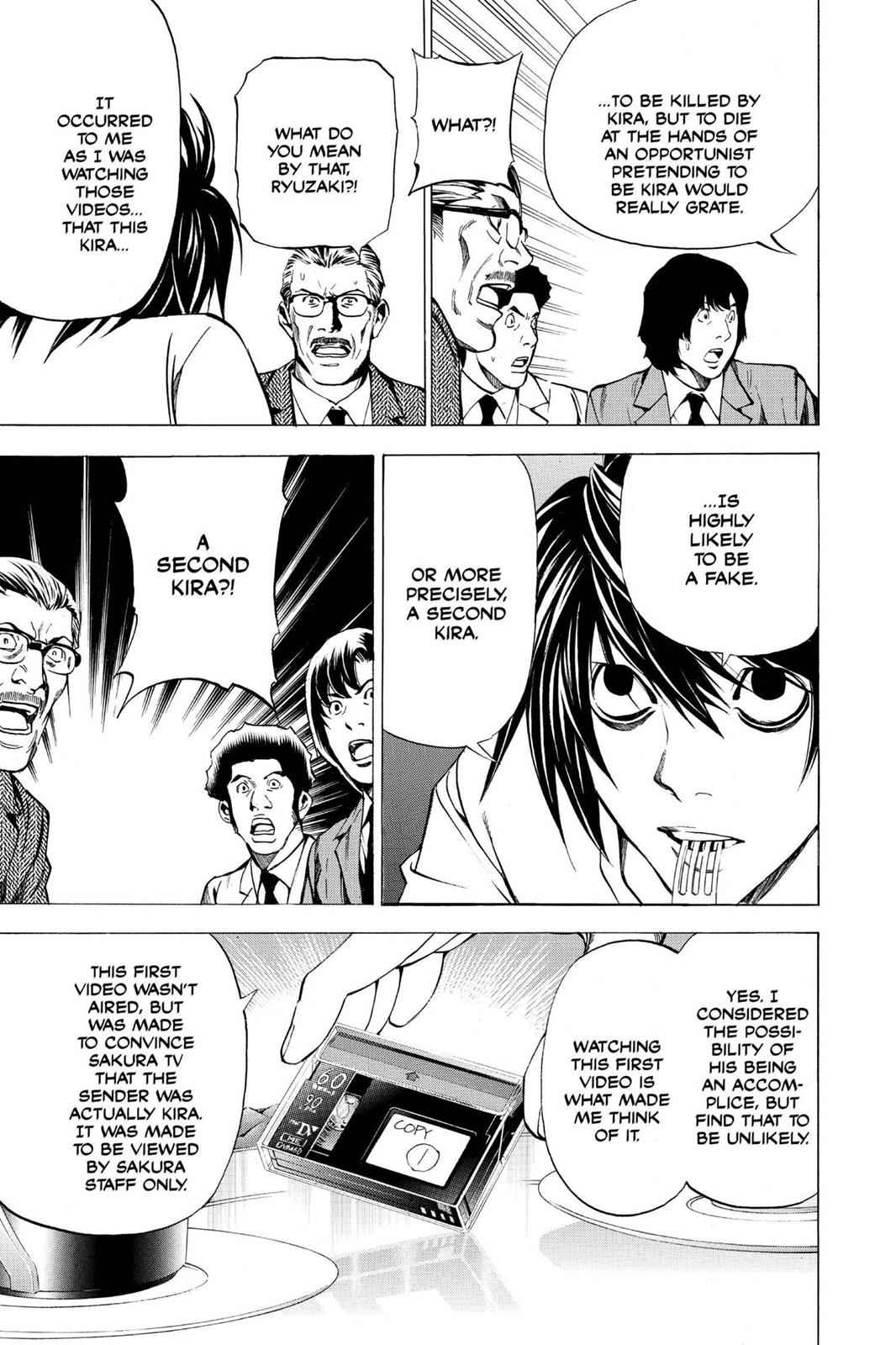 Death Note Chapter 25 Page 9