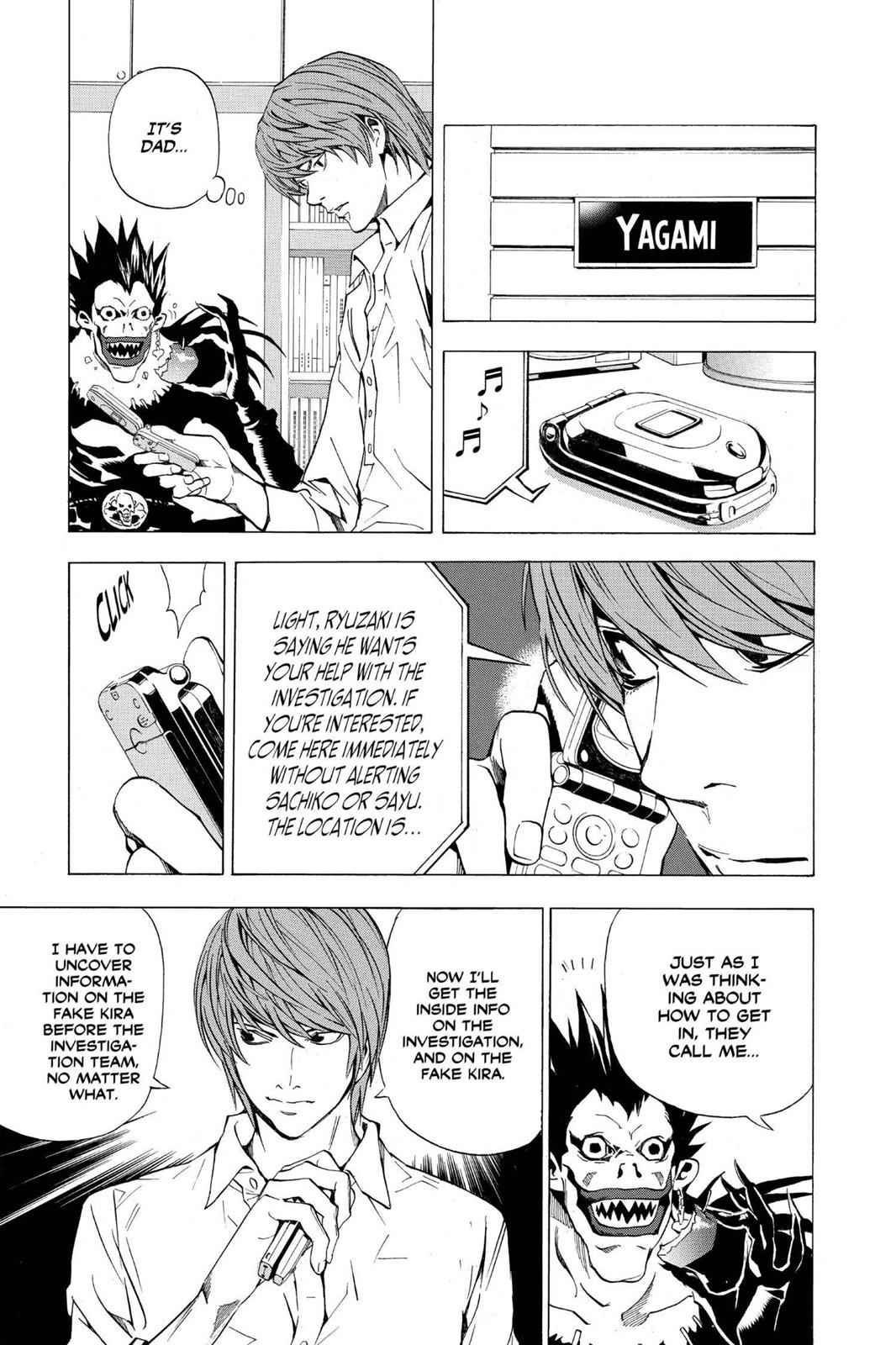 Death Note Chapter 26 Page 14