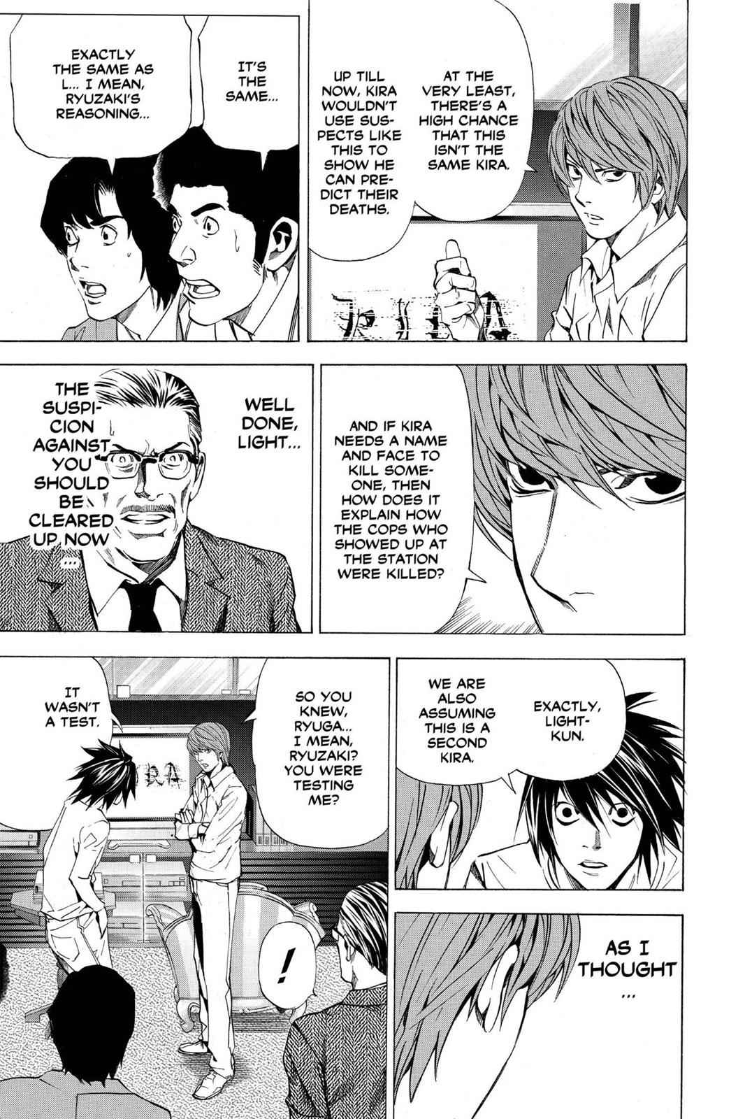 Death Note Chapter 26 Page 20