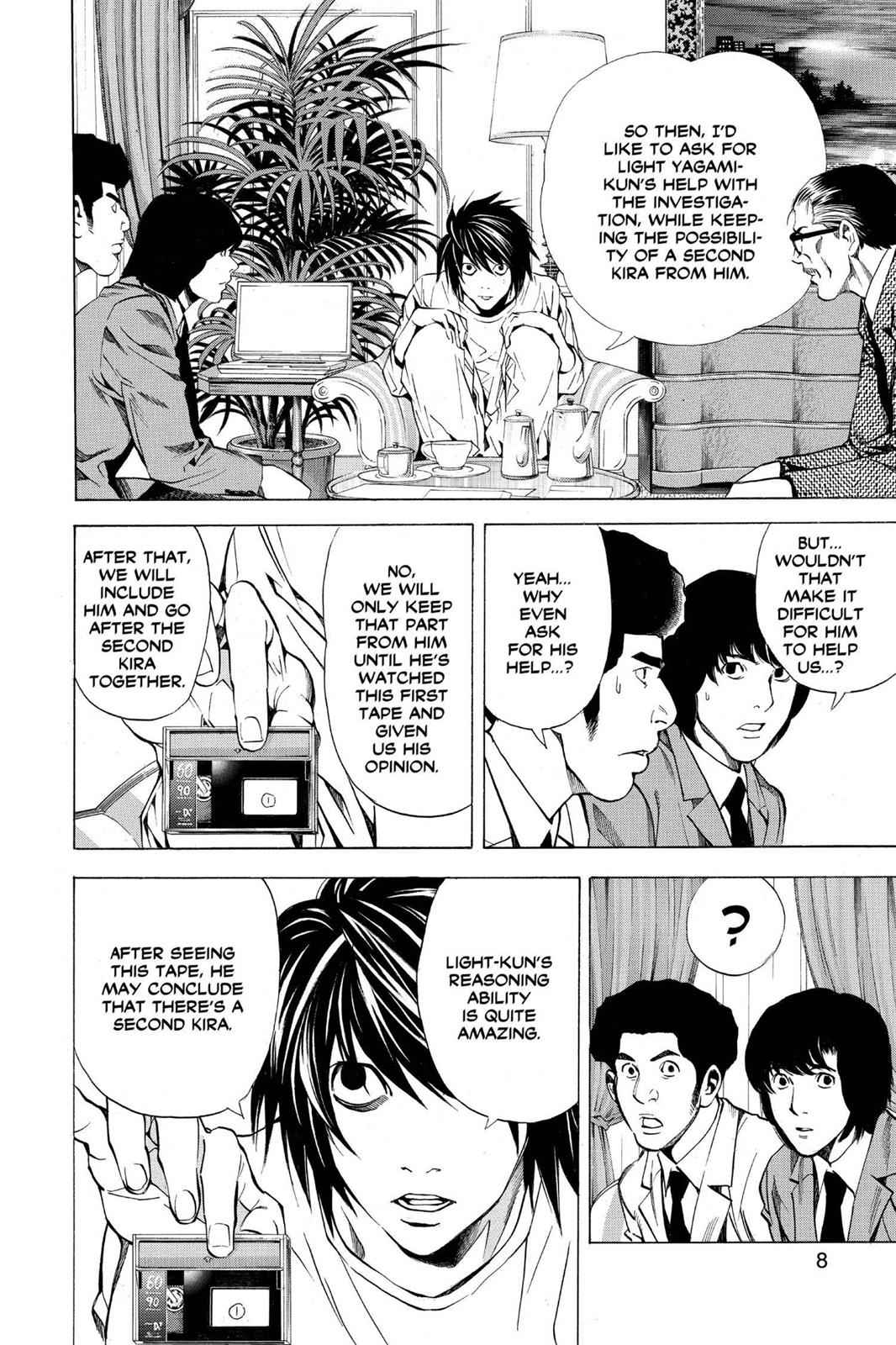 Death Note Chapter 26 Page 9