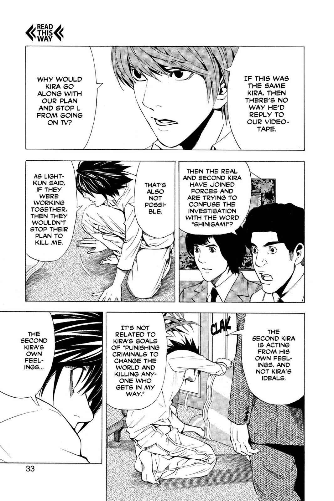 Death Note Chapter 27 Page 3