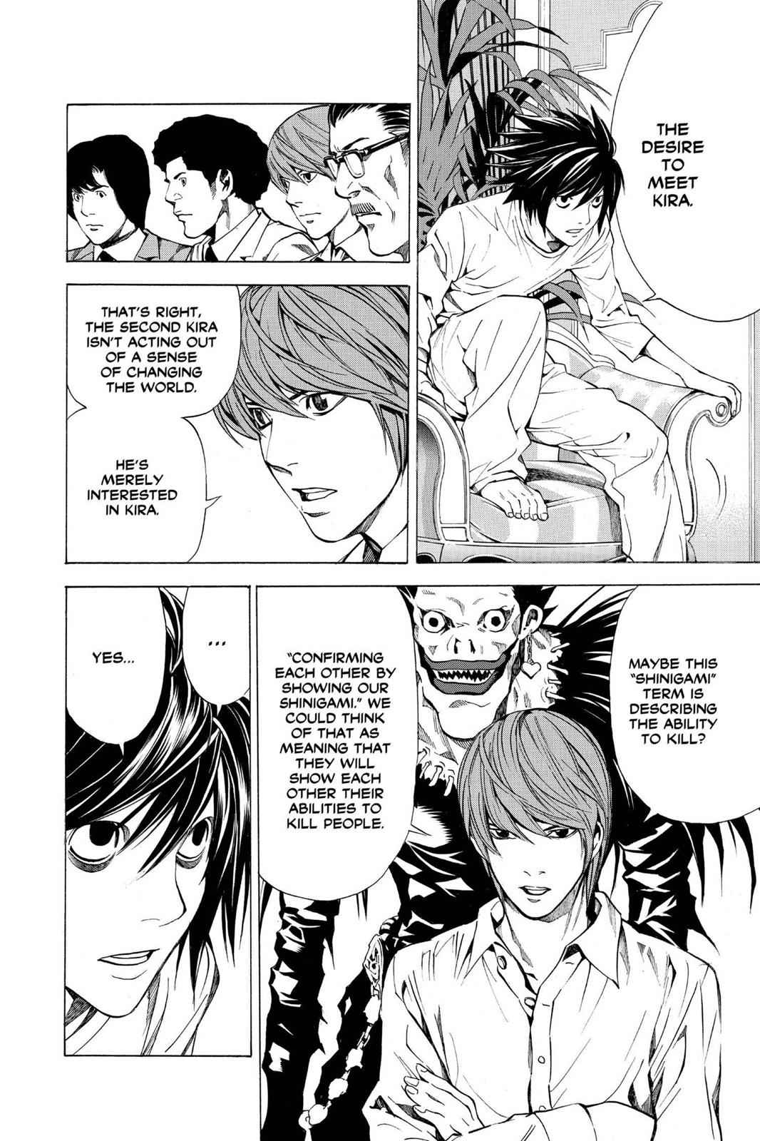 Death Note Chapter 27 Page 4