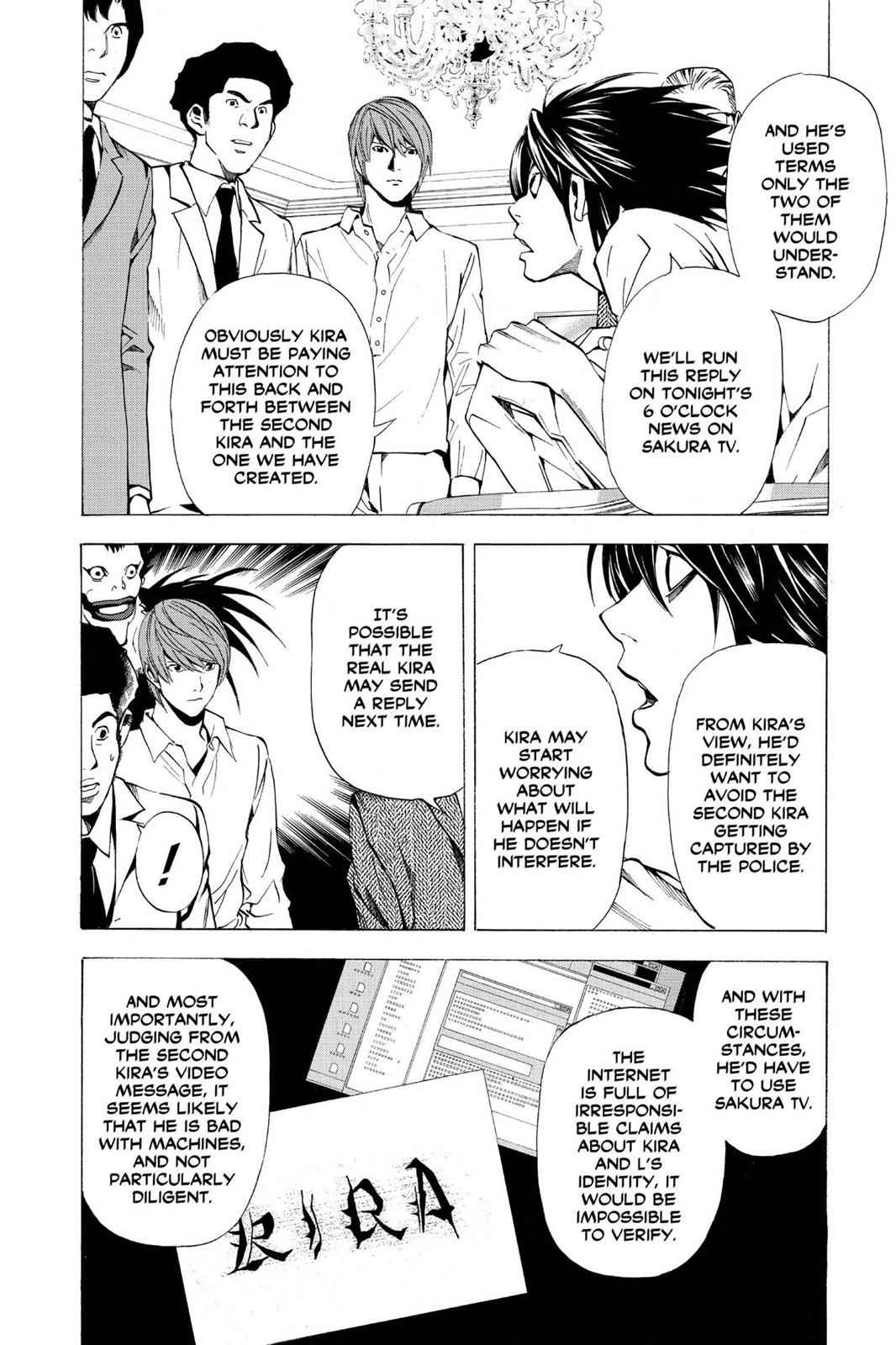 Death Note Chapter 27 Page 6