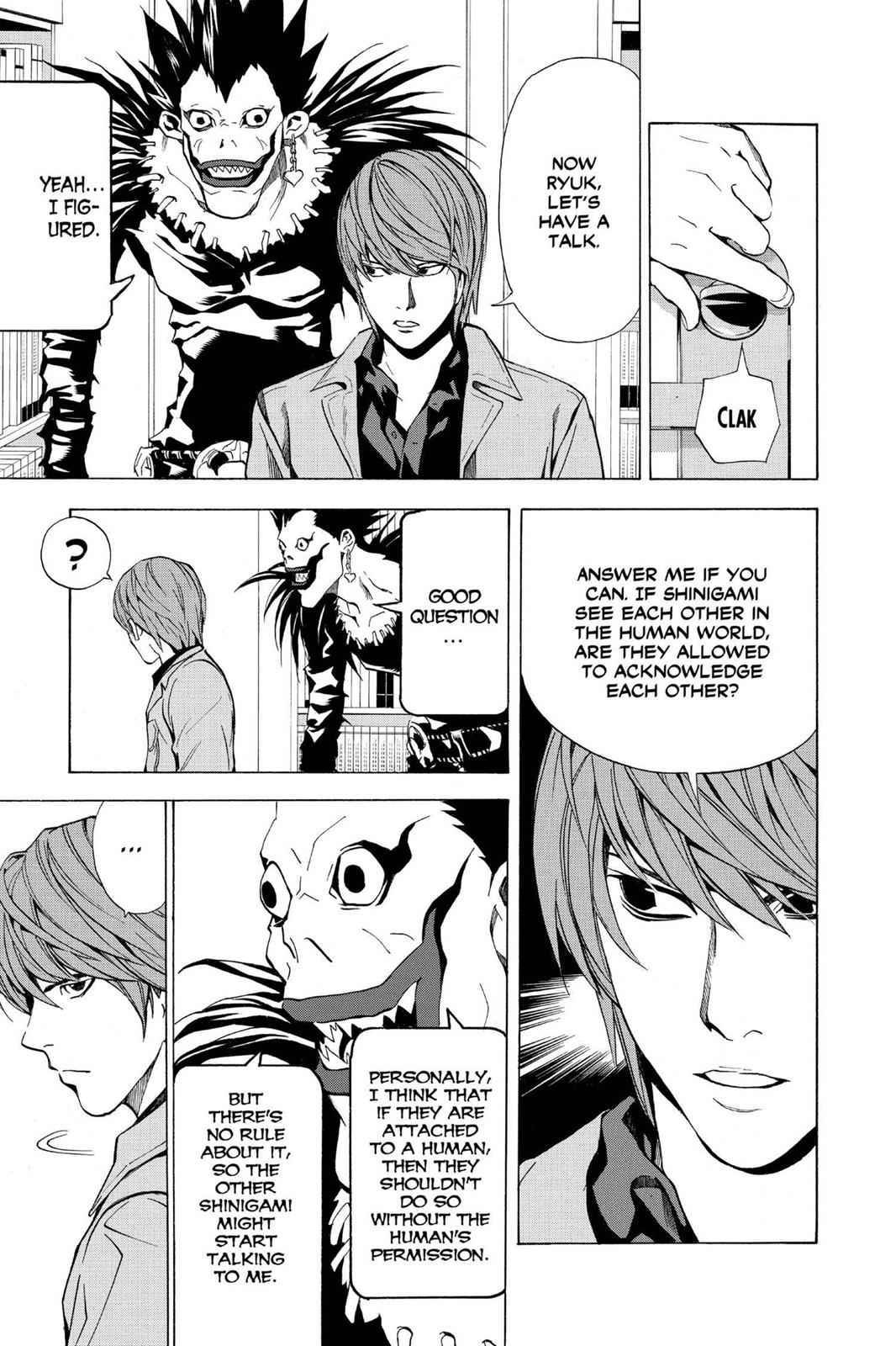 Death Note Chapter 28 Page 17