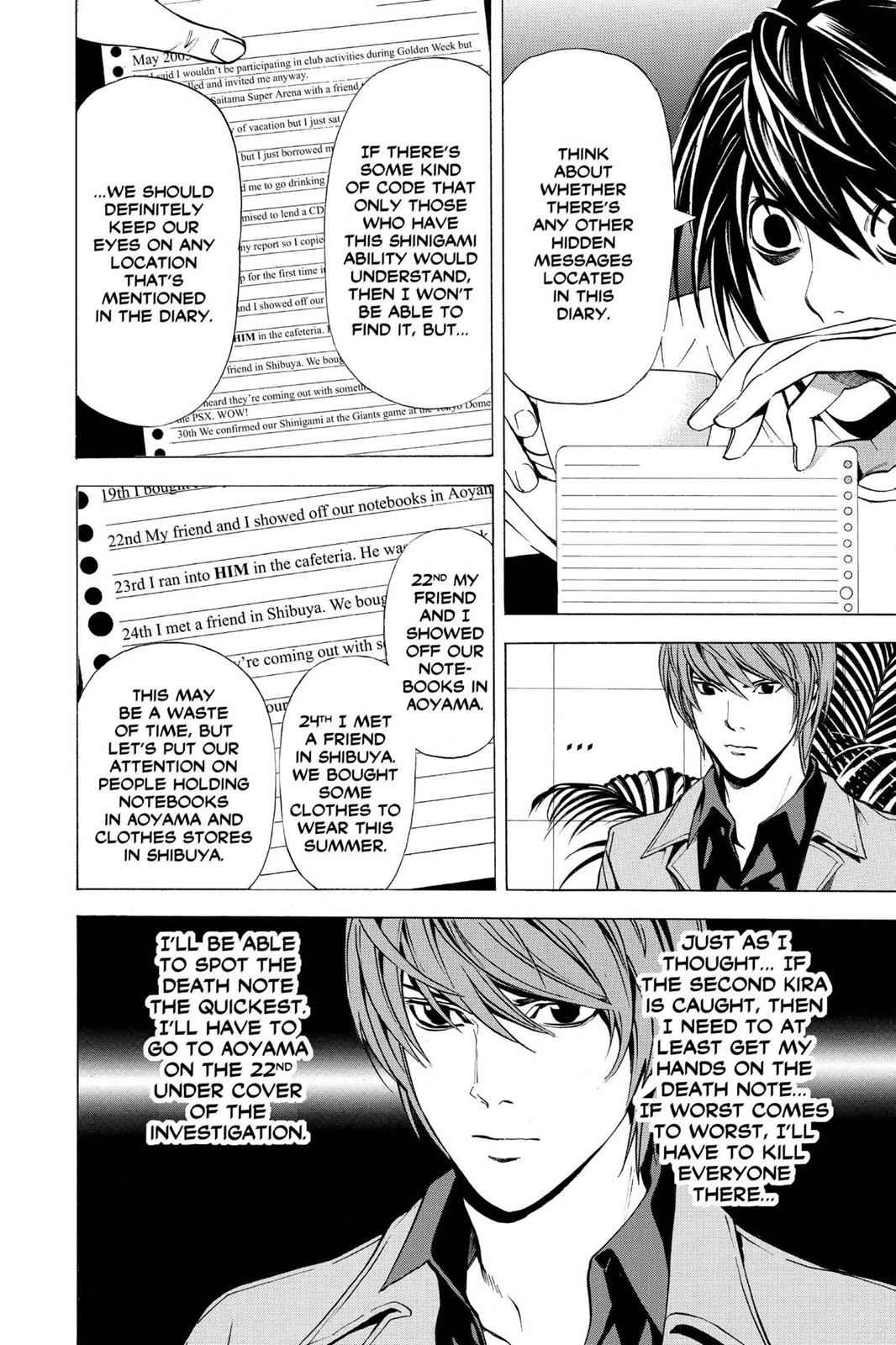 Death Note Chapter 28 Page 8