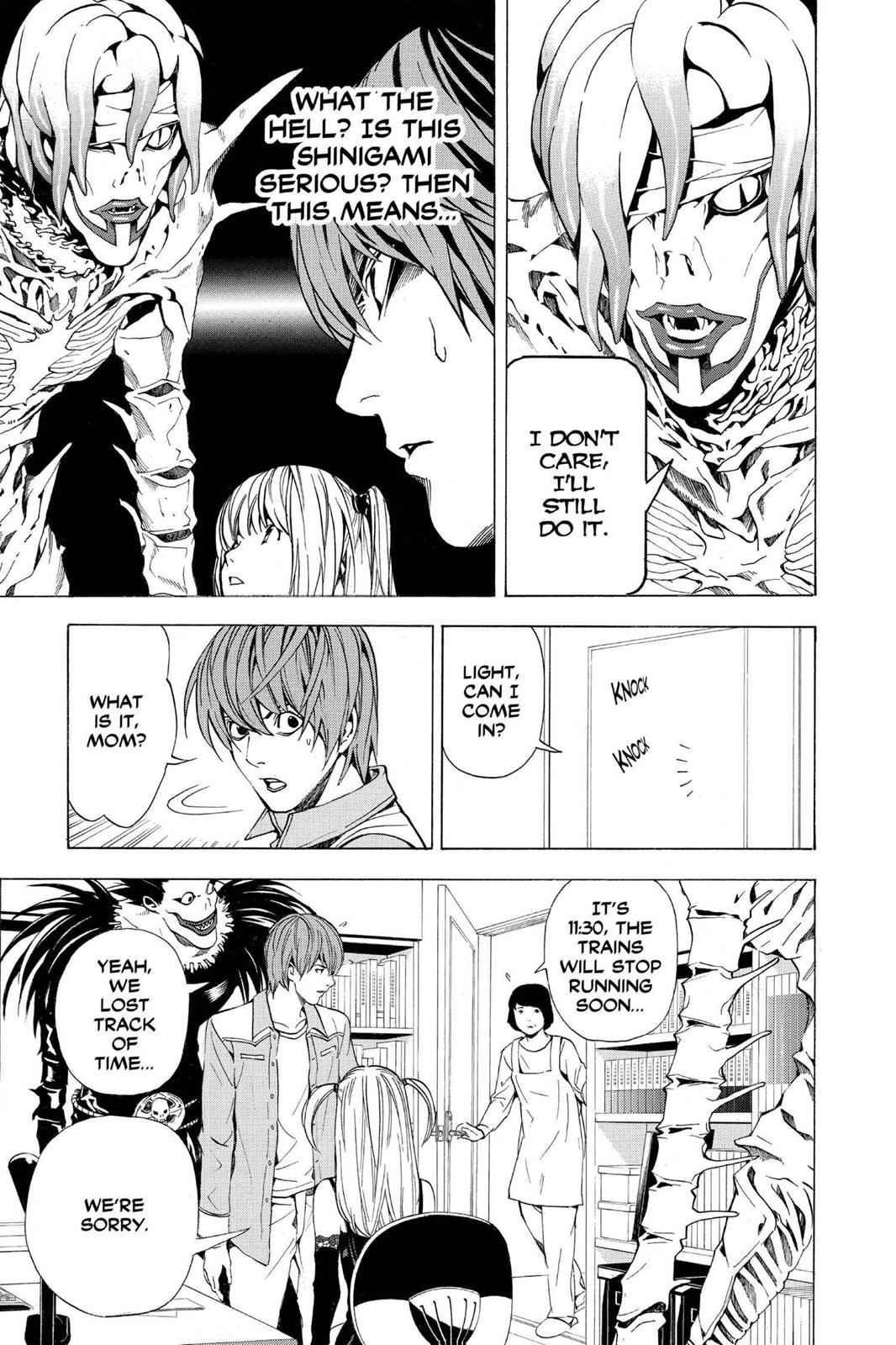 Death Note Chapter 30 Page 19