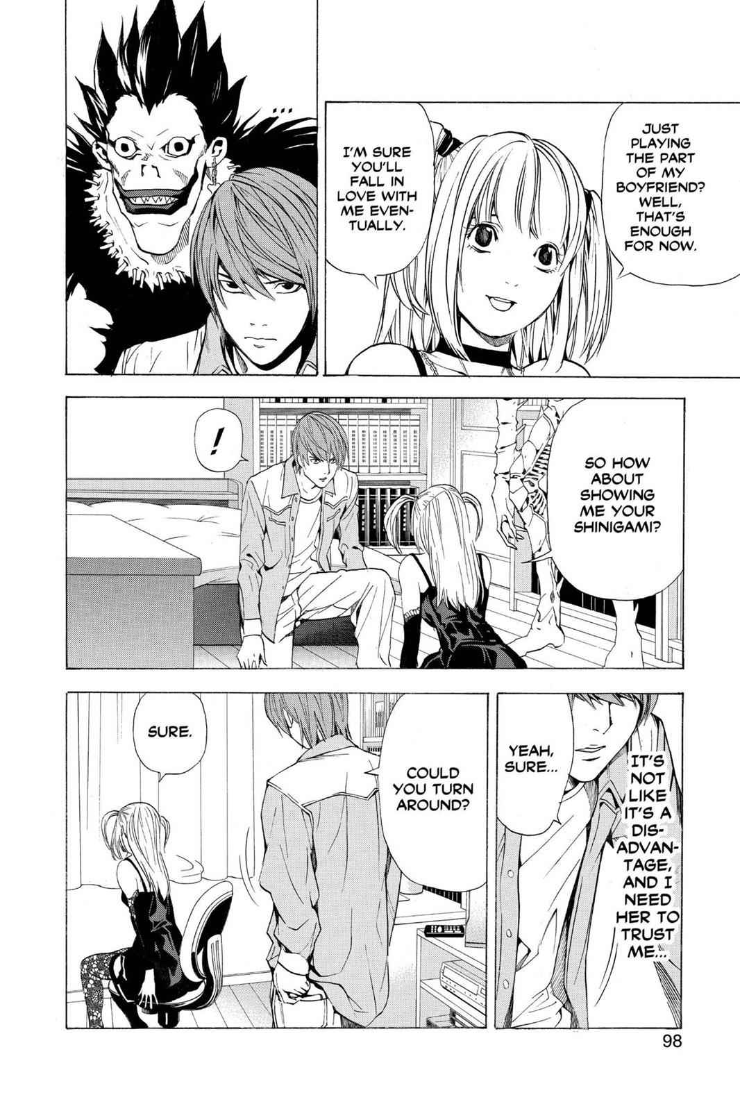 Death Note Chapter 30 Page 2