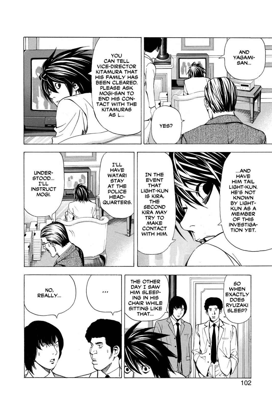 Death Note Chapter 30 Page 6