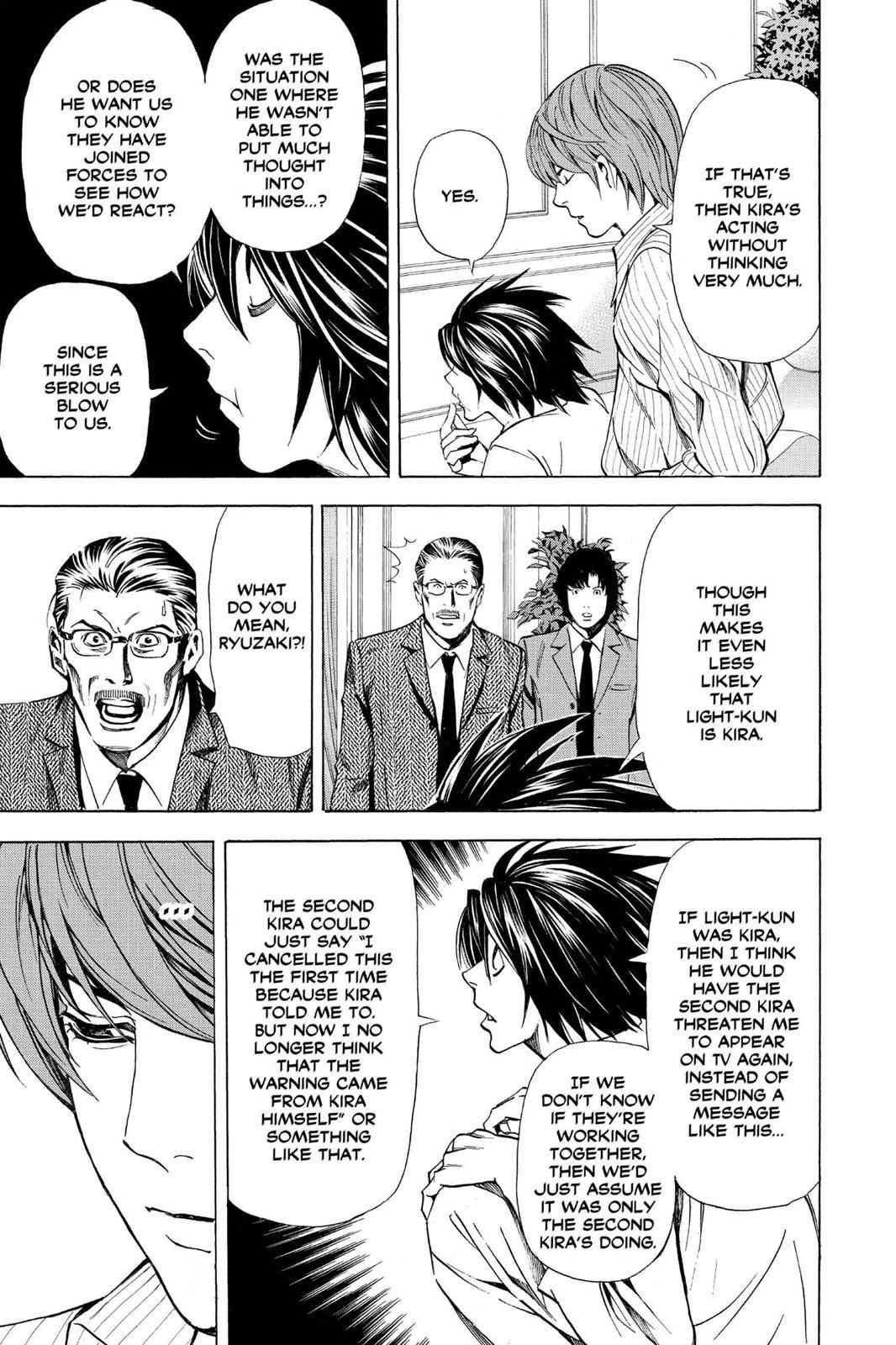 Death Note Chapter 31 Page 11