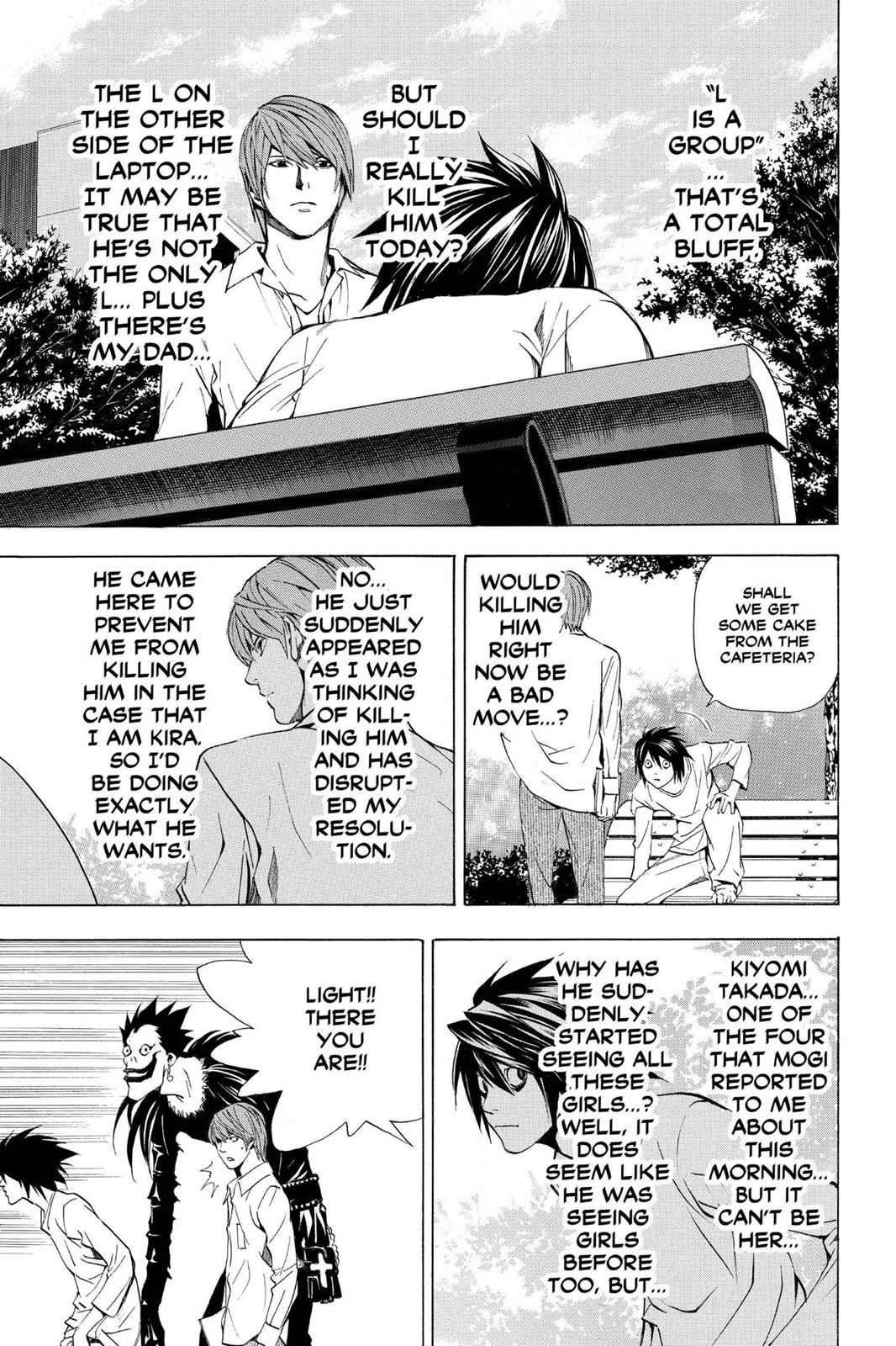 Death Note Chapter 32 Page 13