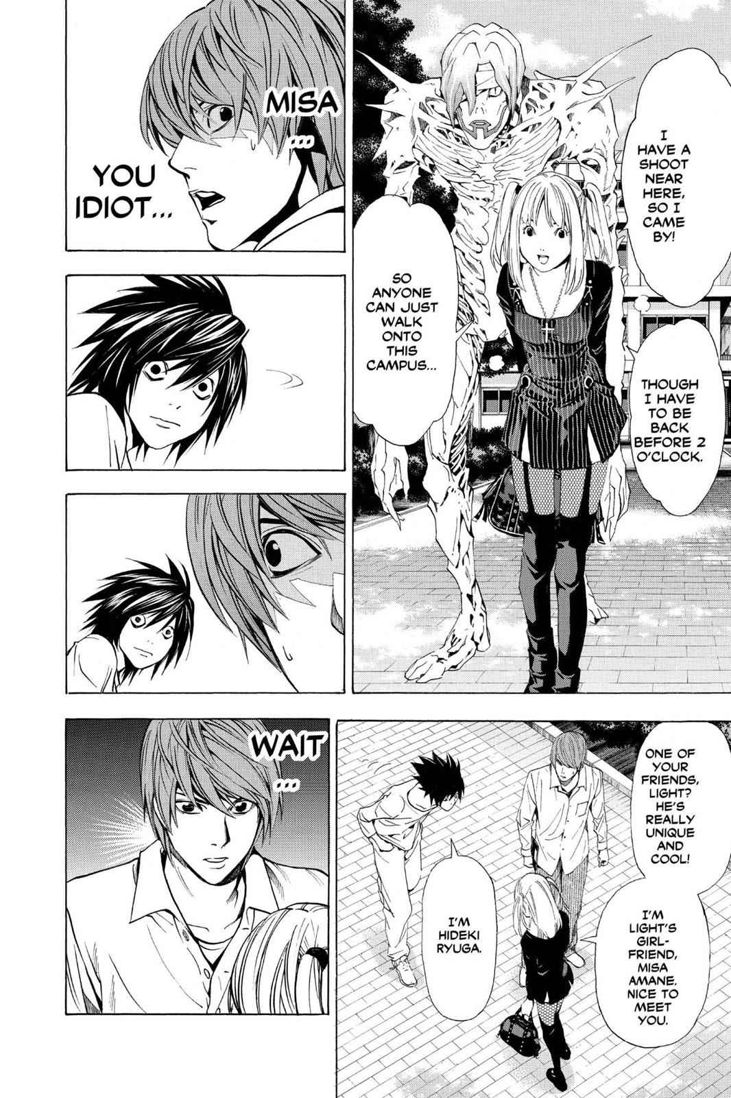 Death Note Chapter 32 Page 14