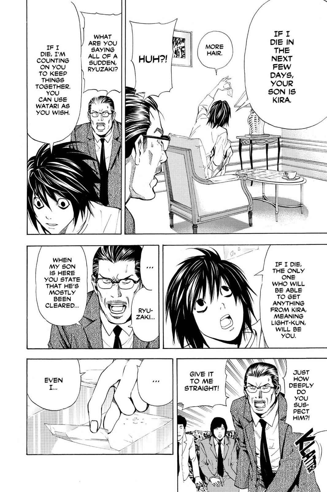 Death Note Chapter 32 Page 8