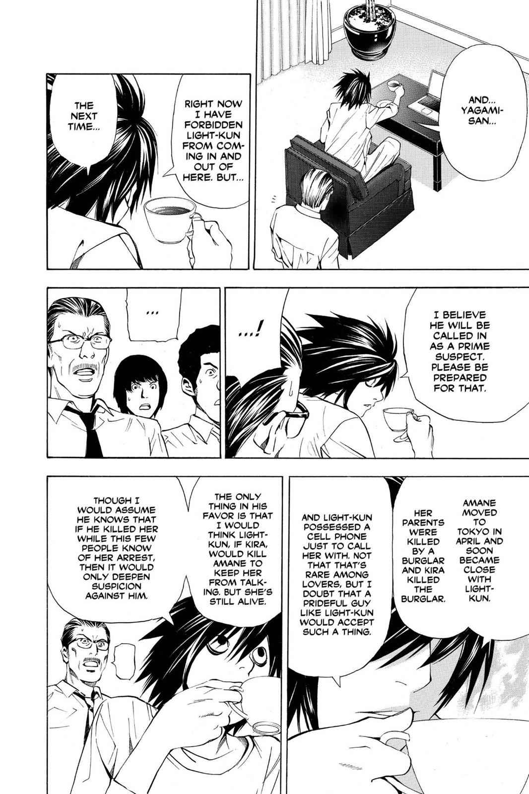 Death Note Chapter 33 Page 10