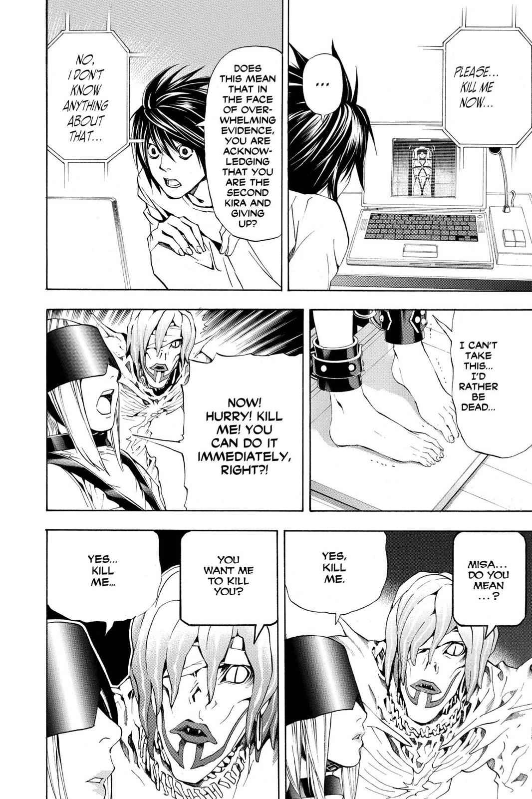 Death Note Chapter 33 Page 14