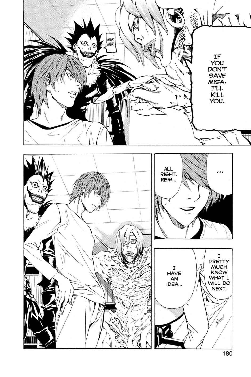 Death Note Chapter 33 Page 20