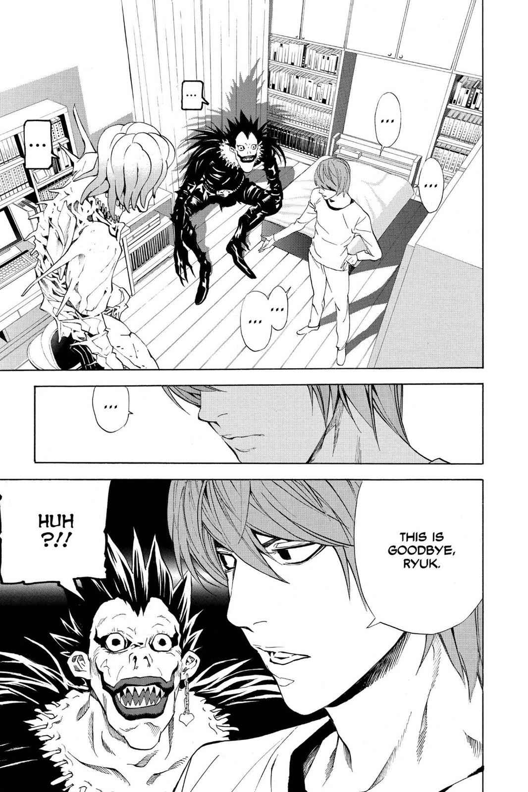 Death Note Chapter 33 Page 21