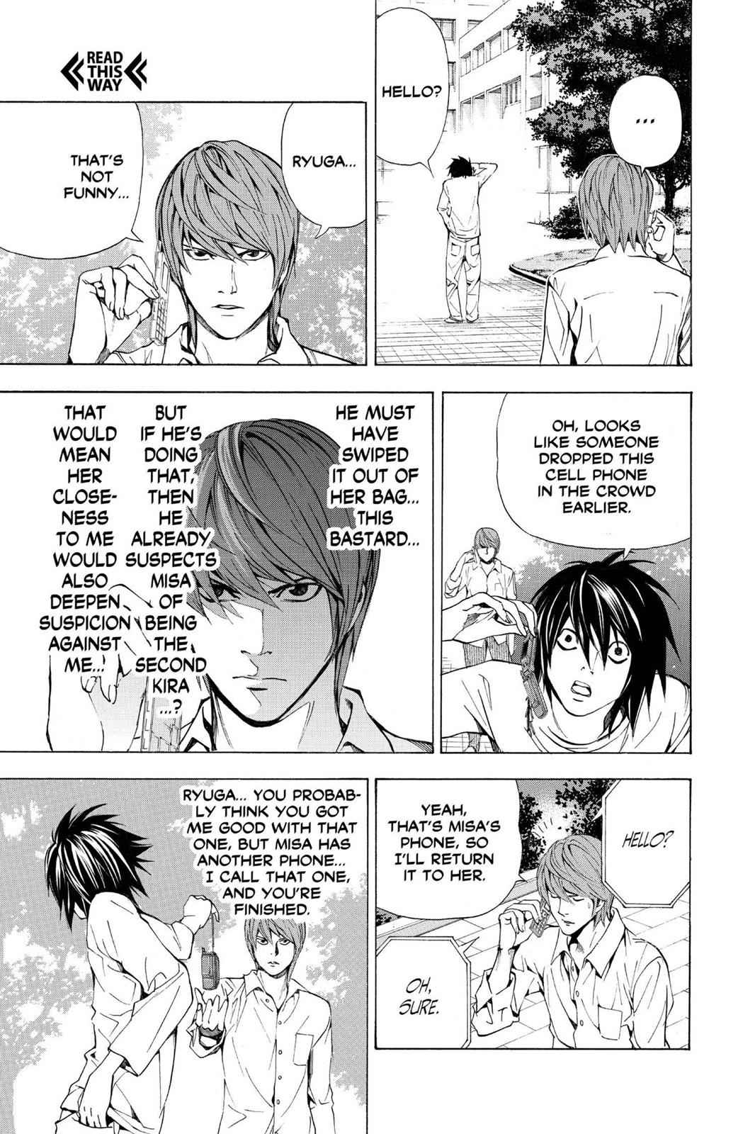 Death Note Chapter 33 Page 3