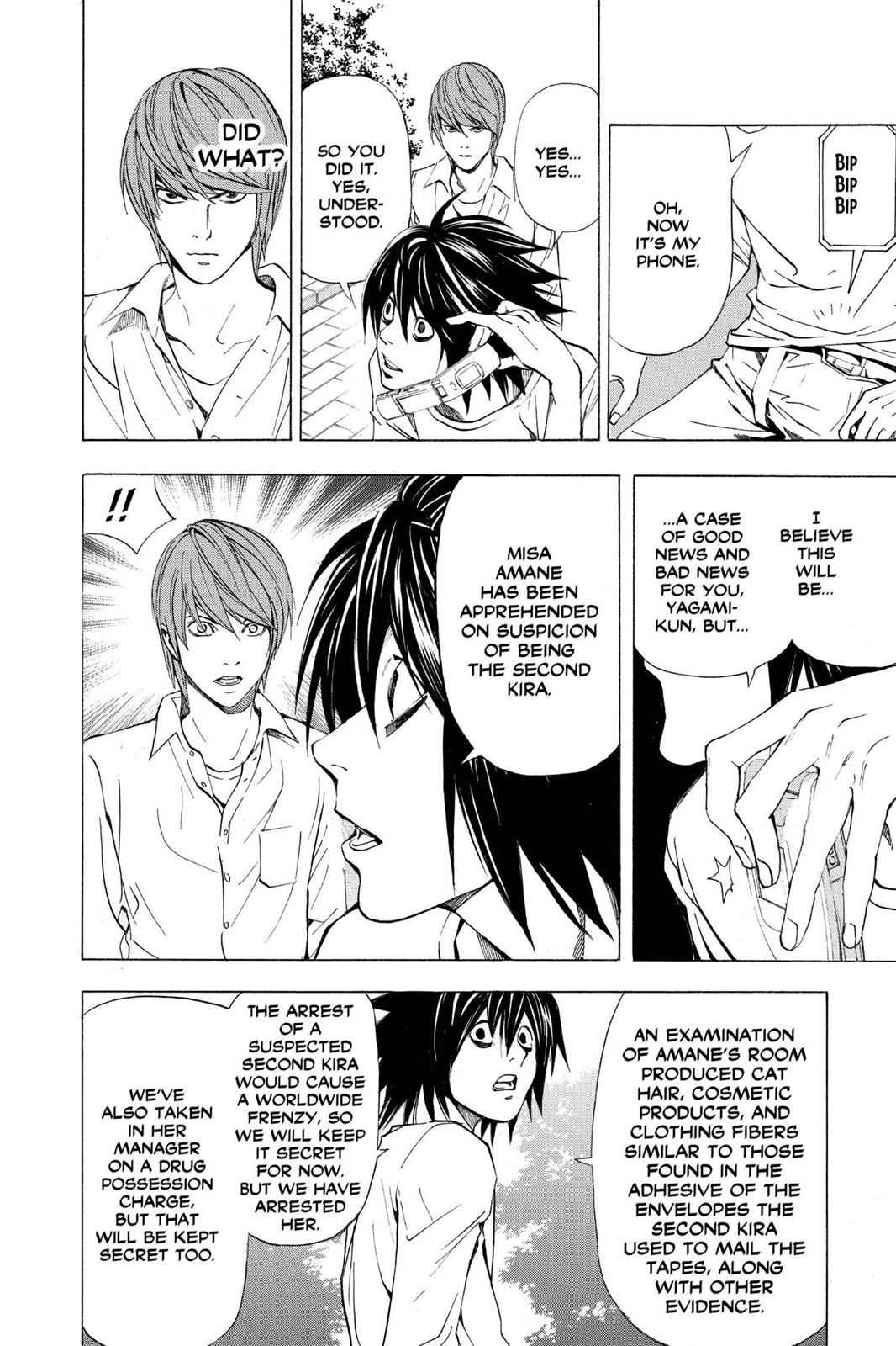 Death Note Chapter 33 Page 4