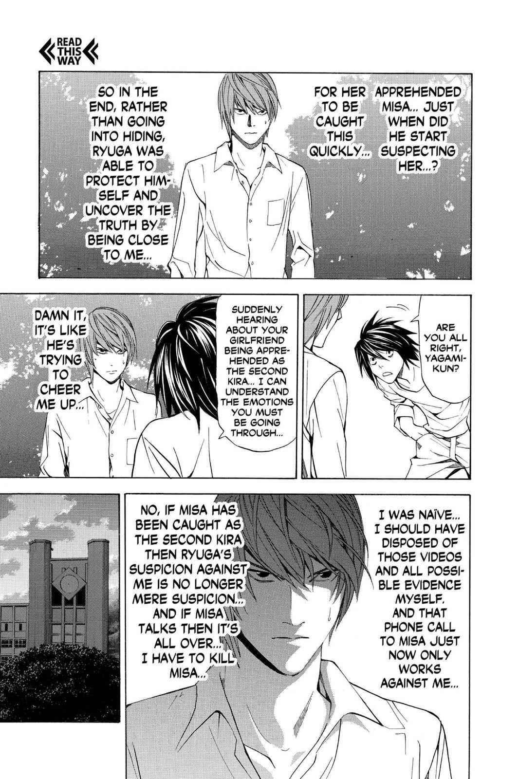 Death Note Chapter 33 Page 5