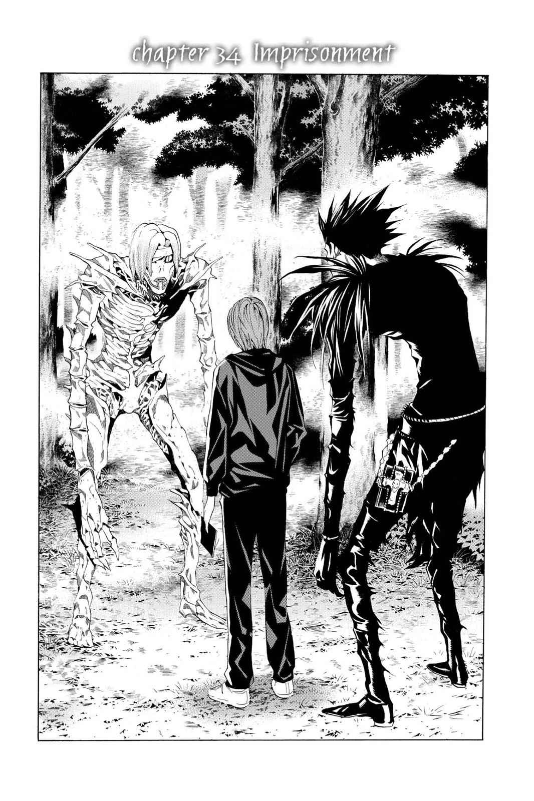 Death Note Chapter 34 Page 1