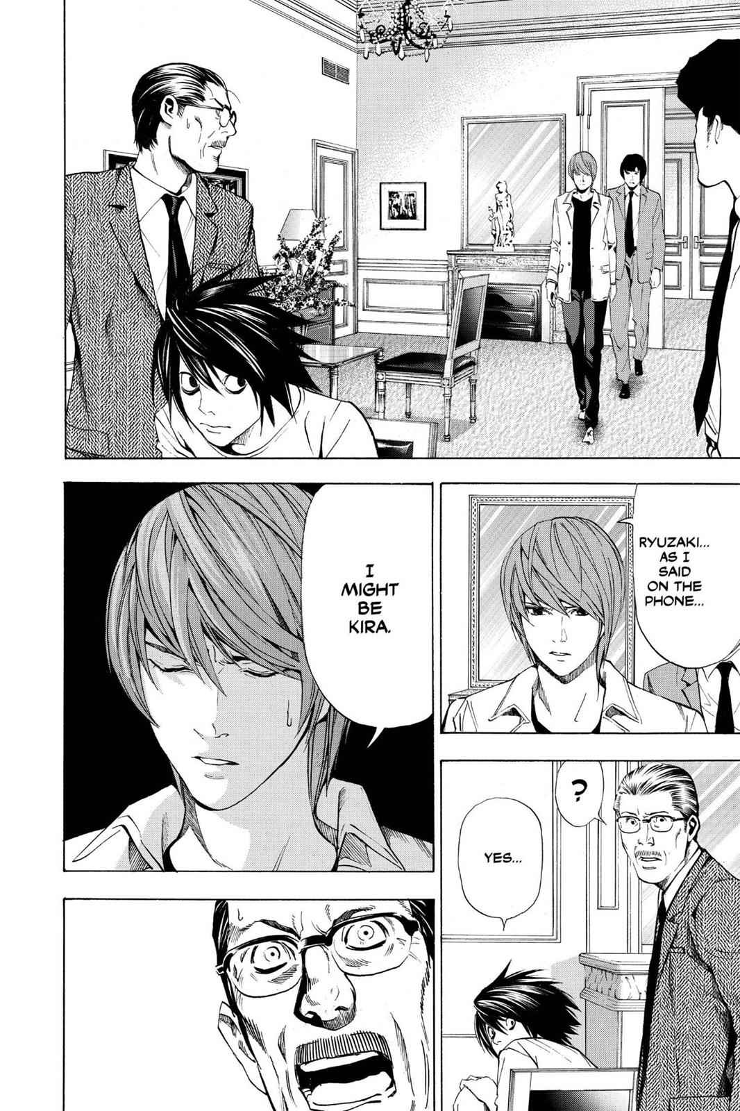 Death Note Chapter 34 Page 10