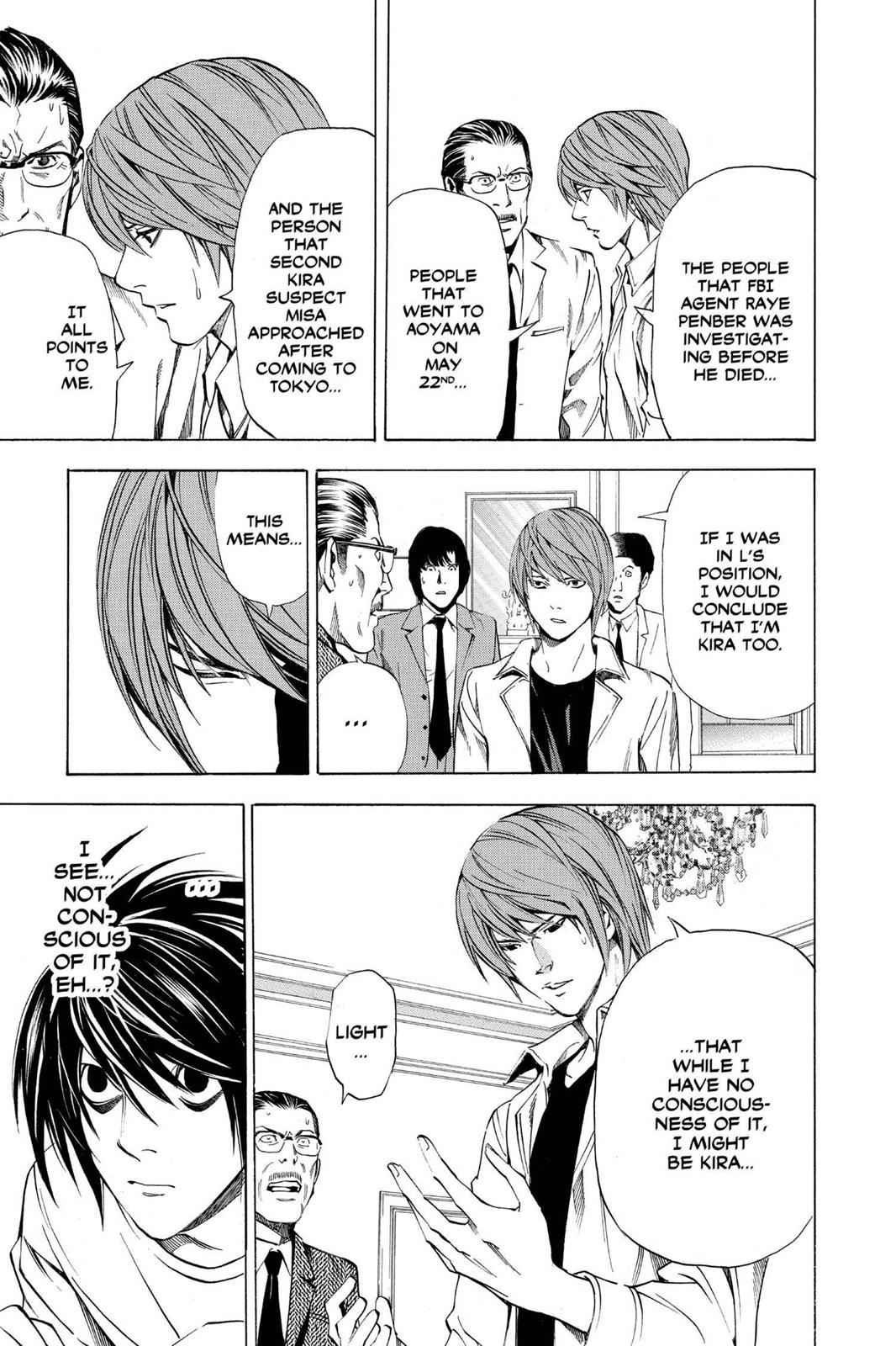 Death Note Chapter 34 Page 13