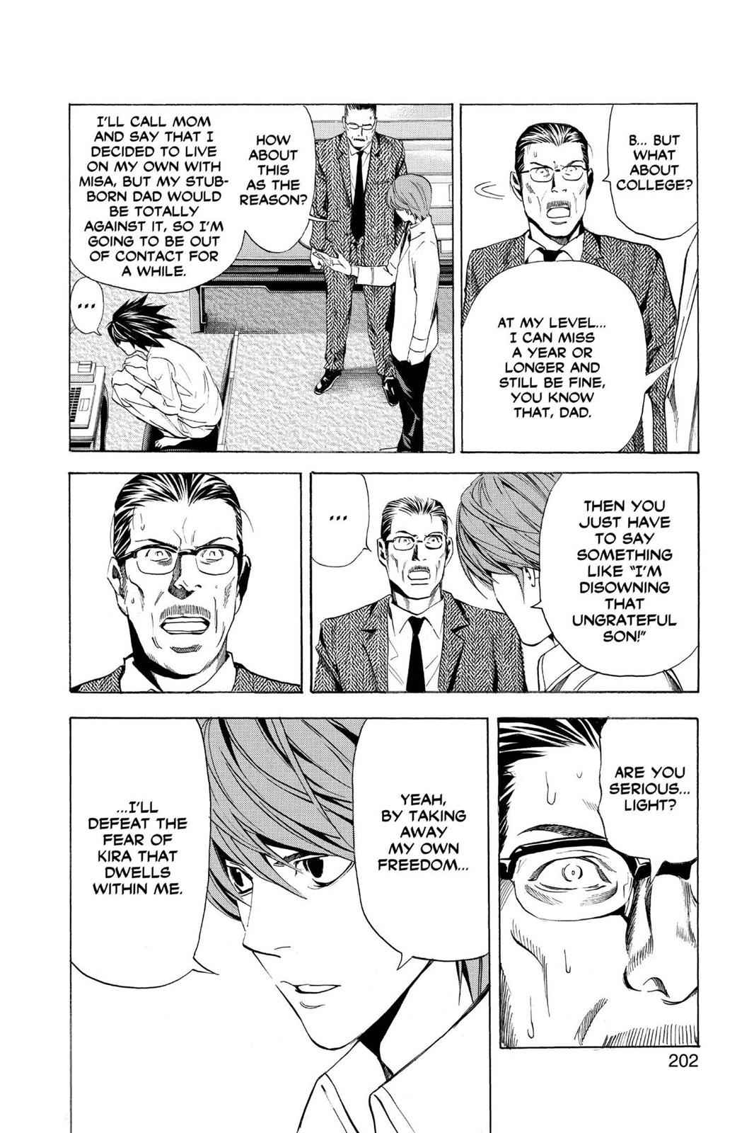 Death Note Chapter 34 Page 20