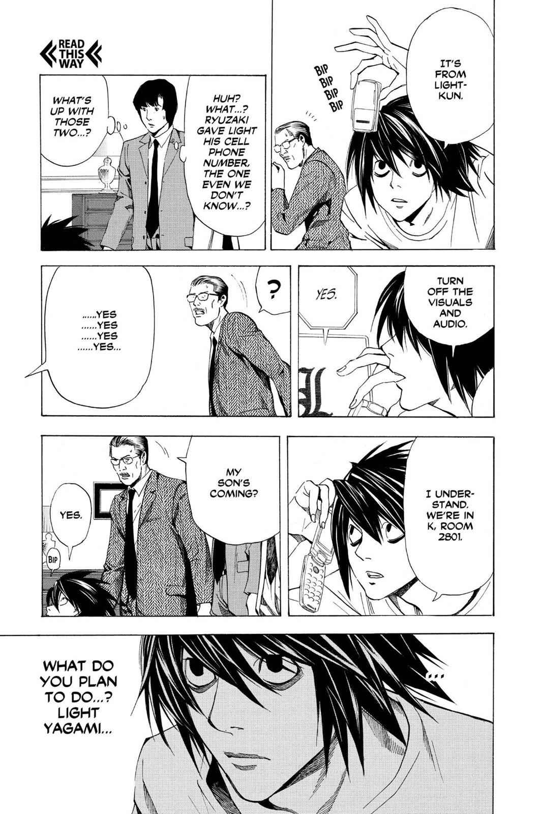 Death Note Chapter 34 Page 9