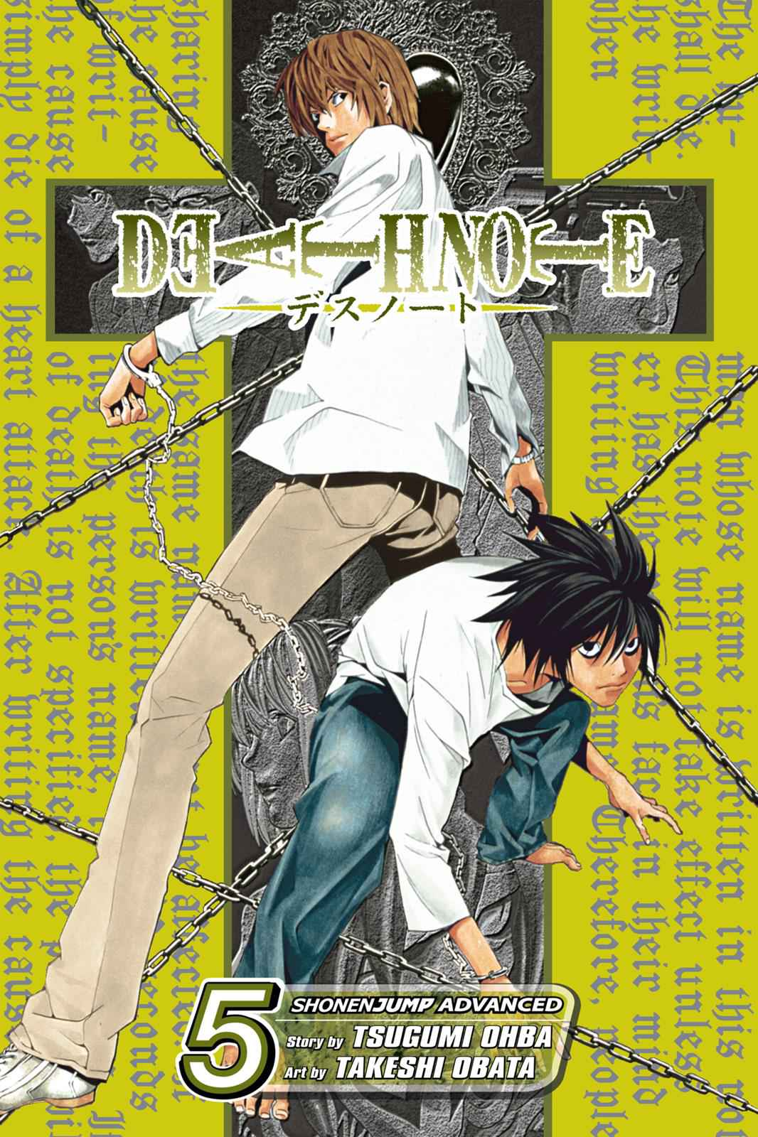 Death Note Chapter 35 Page 1