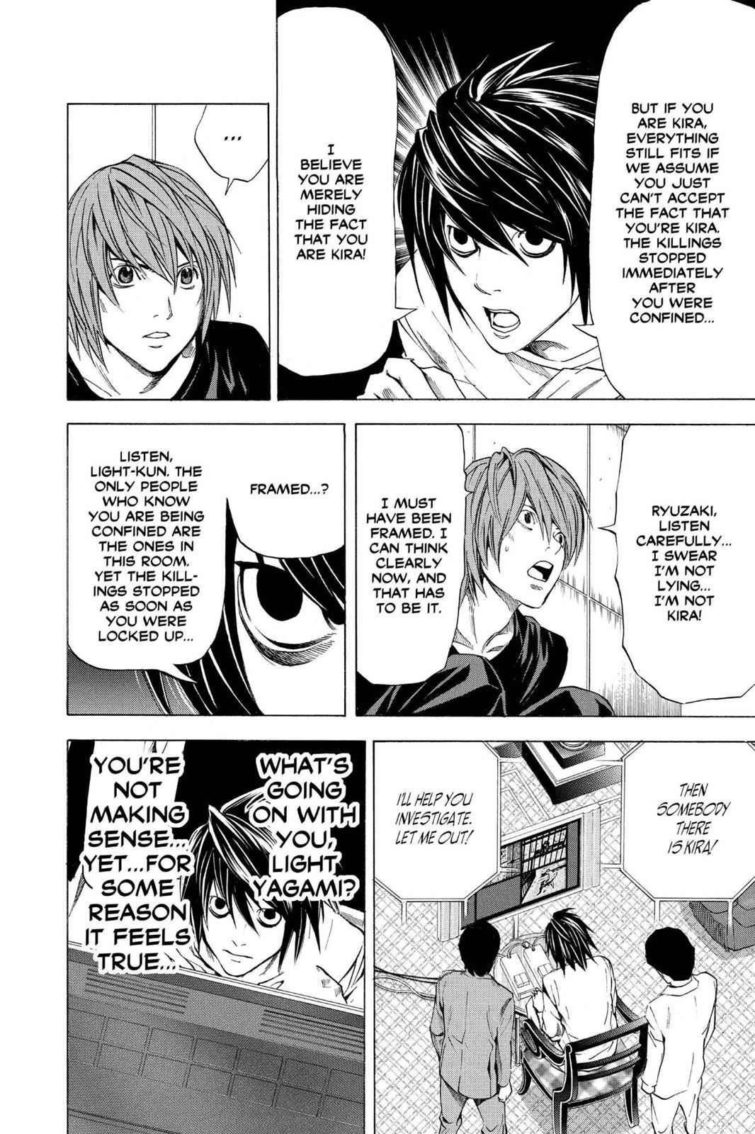 Death Note Chapter 35 Page 21