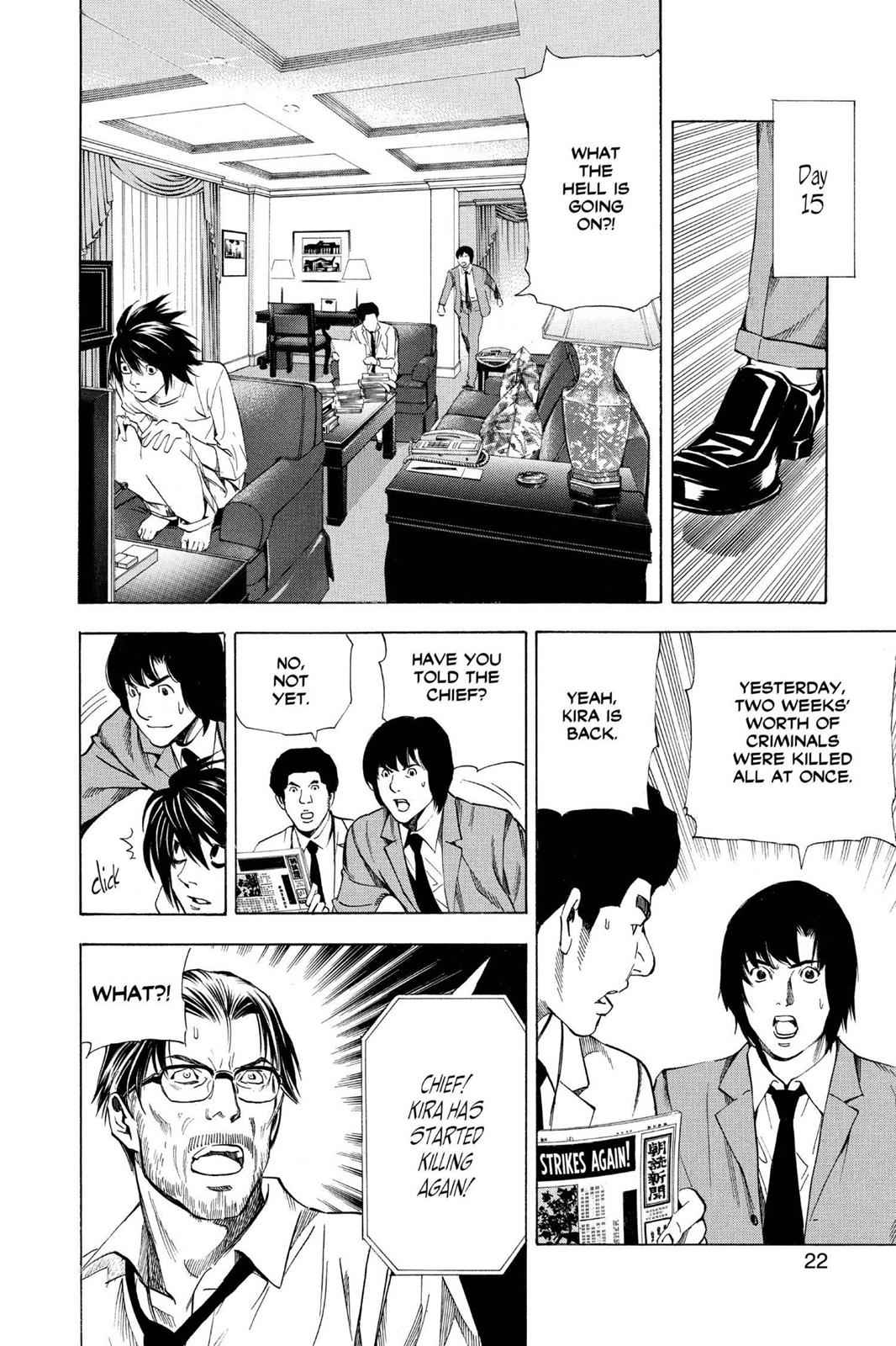 Death Note Chapter 35 Page 23