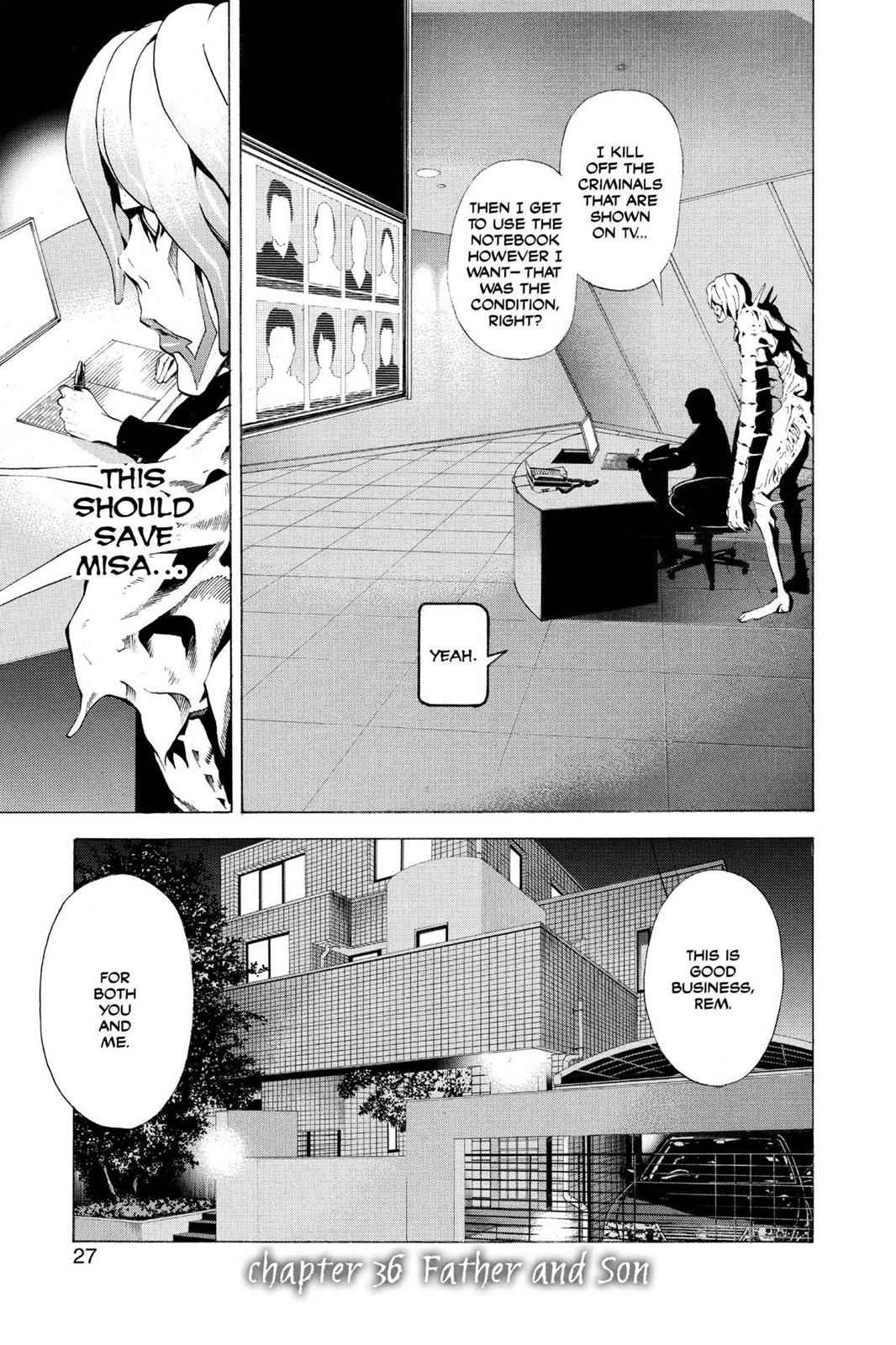 Death Note Chapter 36 Page 1