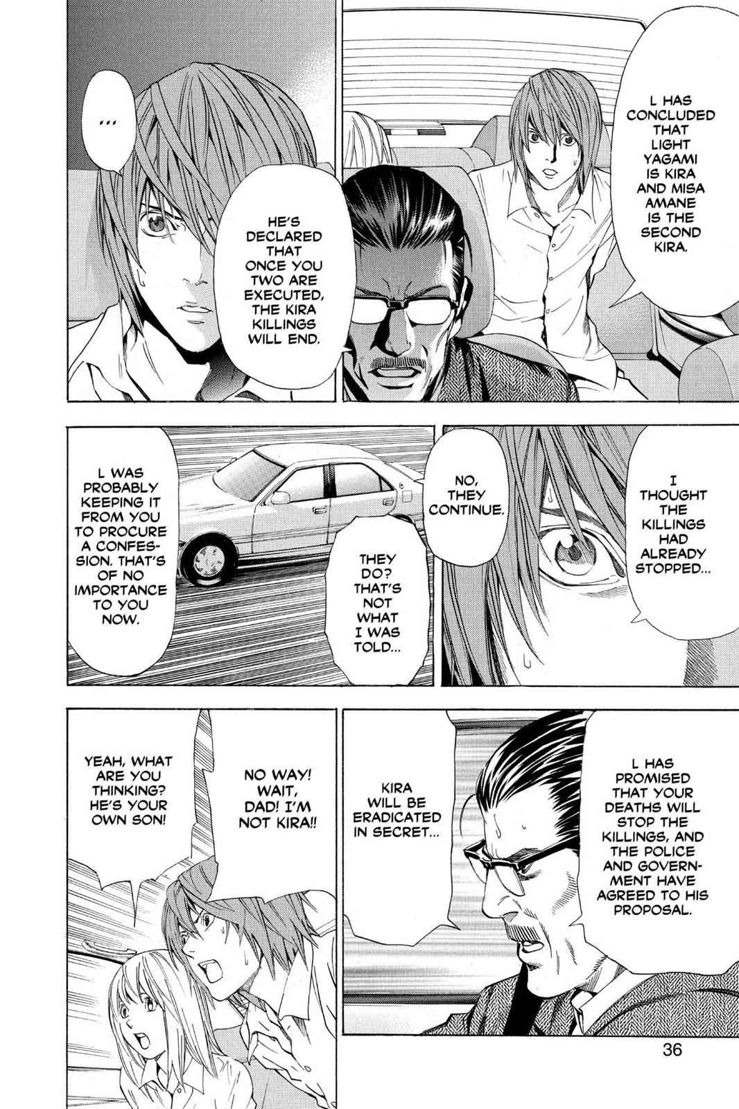 Death Note Chapter 36 Page 10