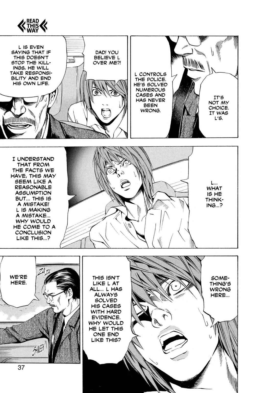 Death Note Chapter 36 Page 11