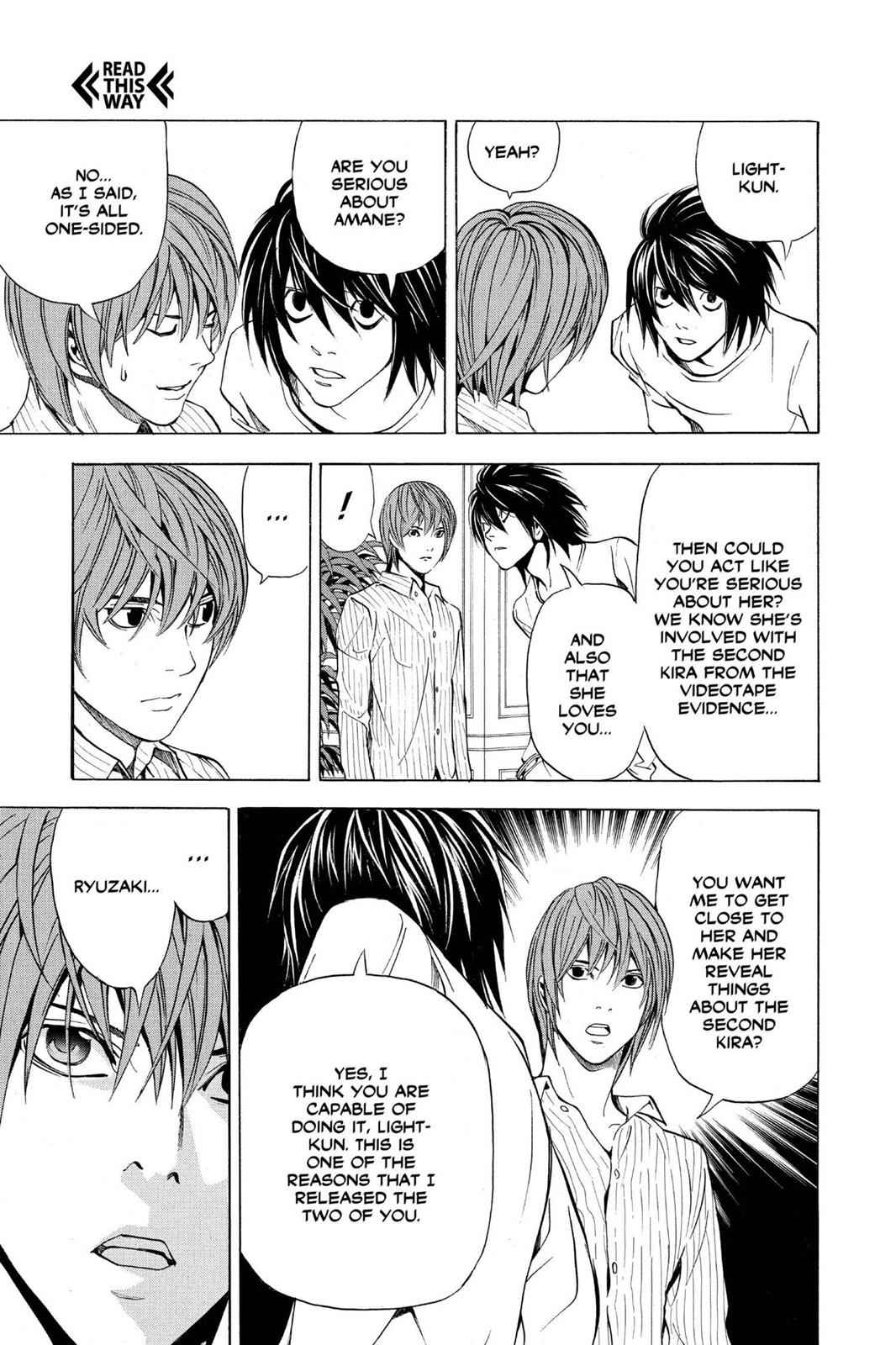 Death Note Chapter 37 Page 10