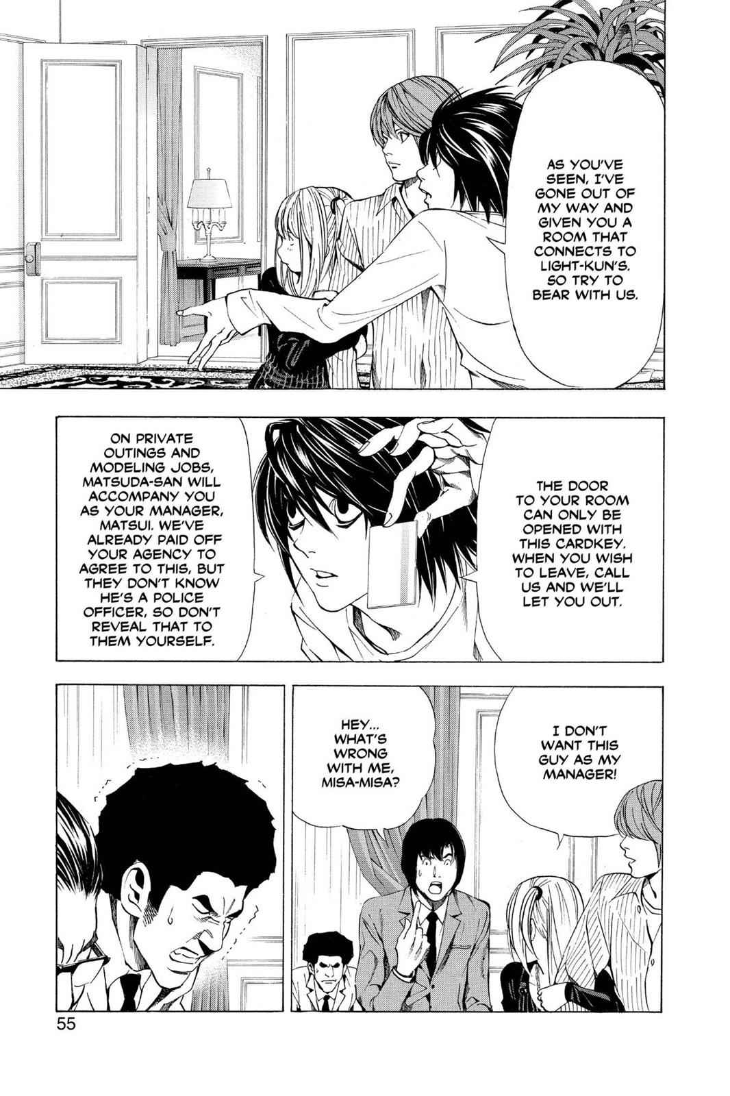 Death Note Chapter 37 Page 8