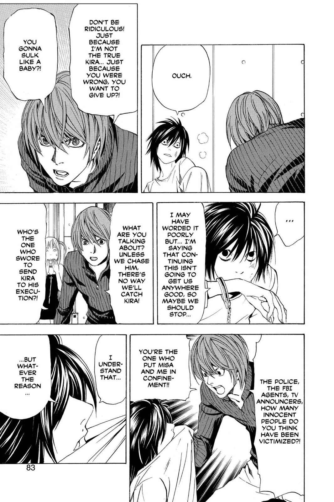 Death Note Chapter 38 Page 13