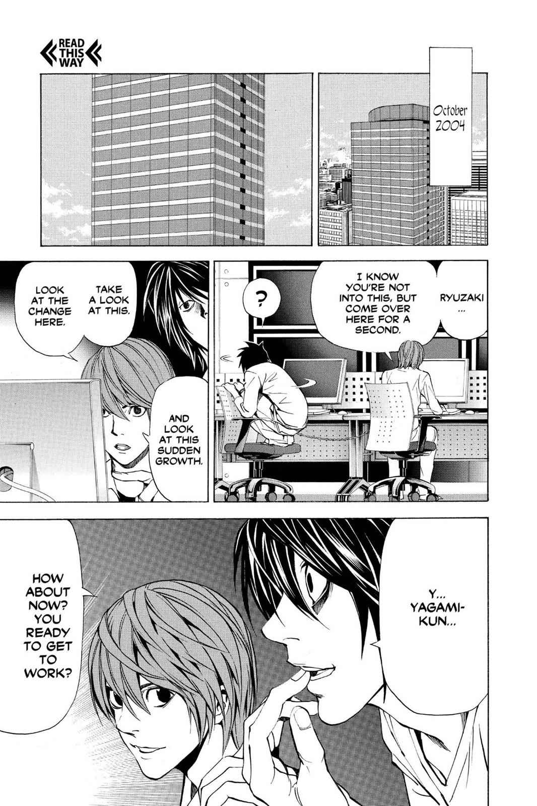 Death Note Chapter 38 Page 21