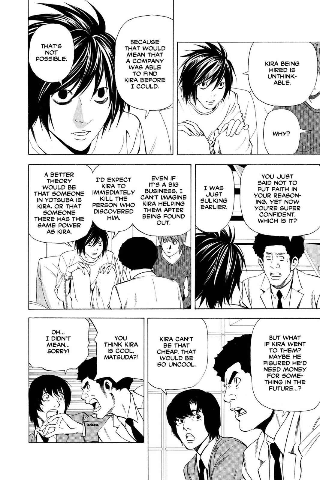 Death Note Chapter 39 Page 8