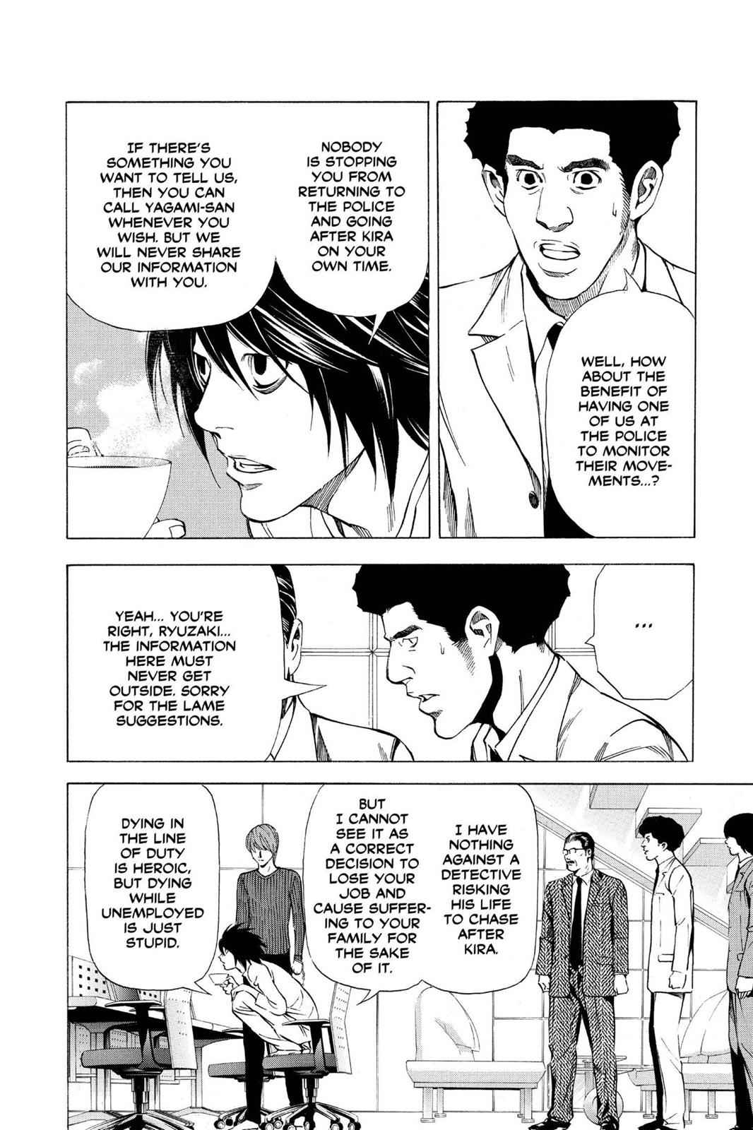 Death Note Chapter 40 Page 6