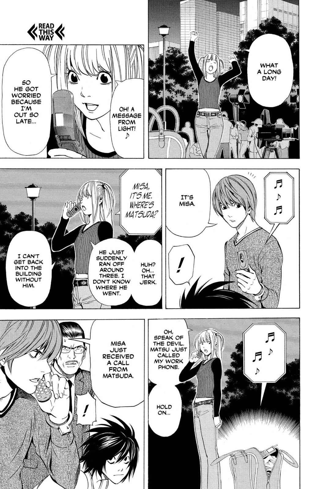 Death Note Chapter 42 Page 10