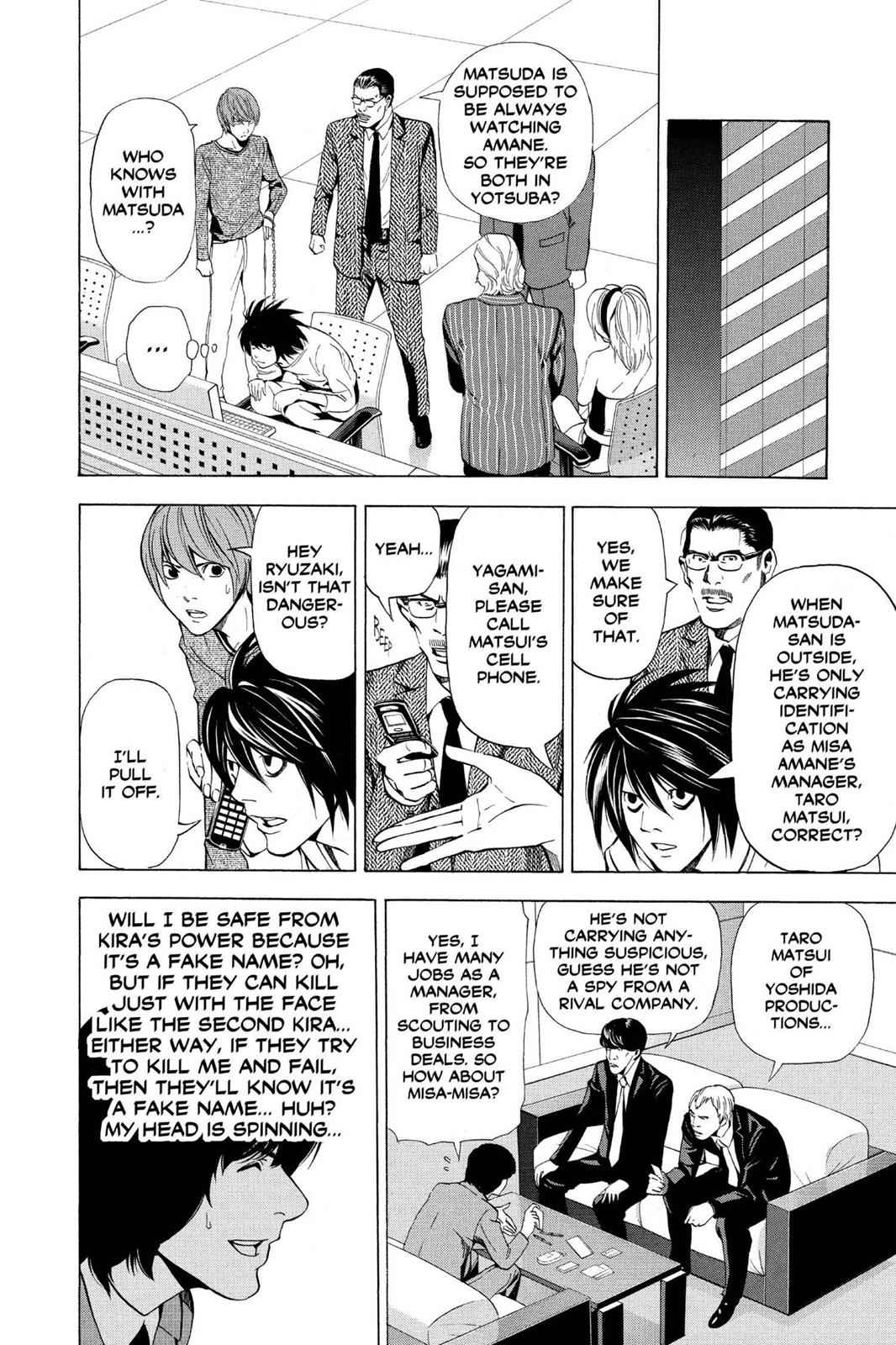 Death Note Chapter 42 Page 5