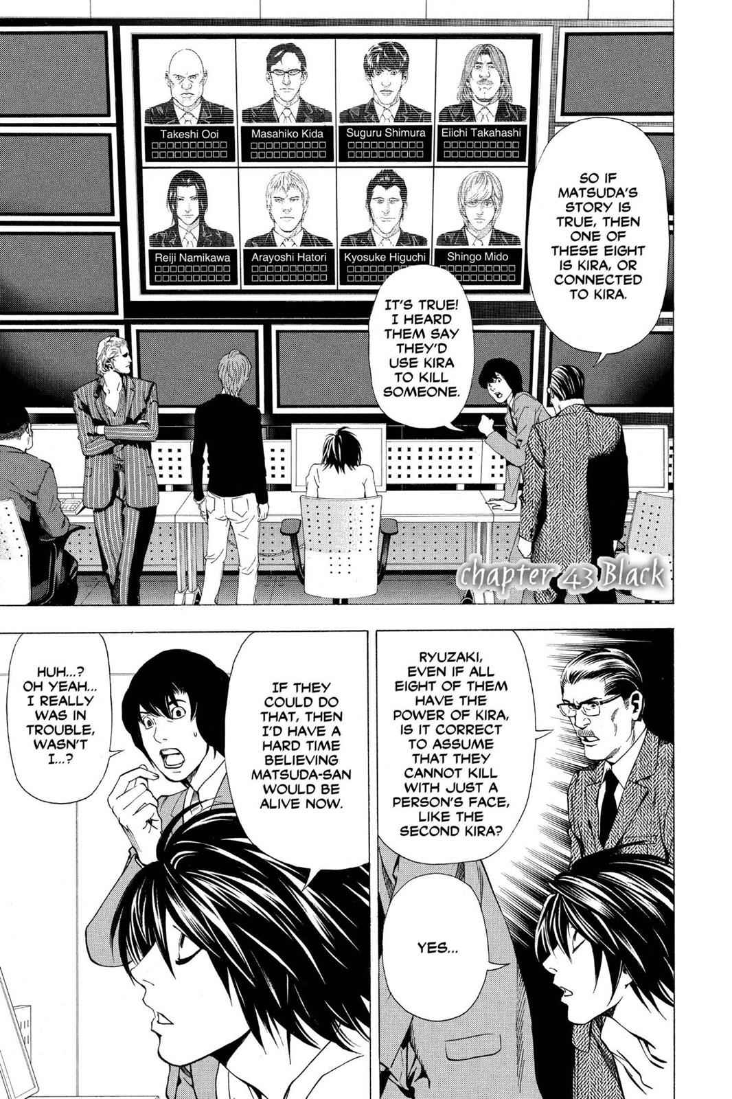 Death Note Chapter 43 Page 1