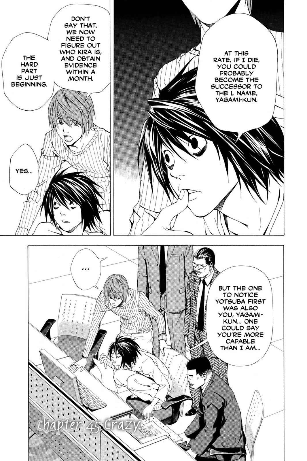Death Note Chapter 45 Page 1