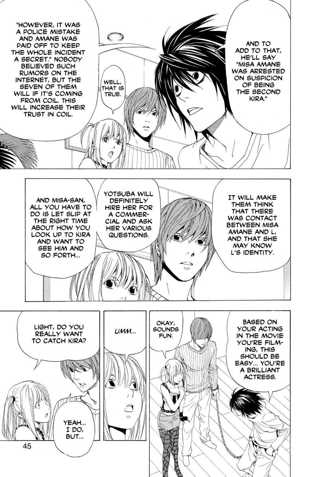 Death Note Chapter 45 Page 17