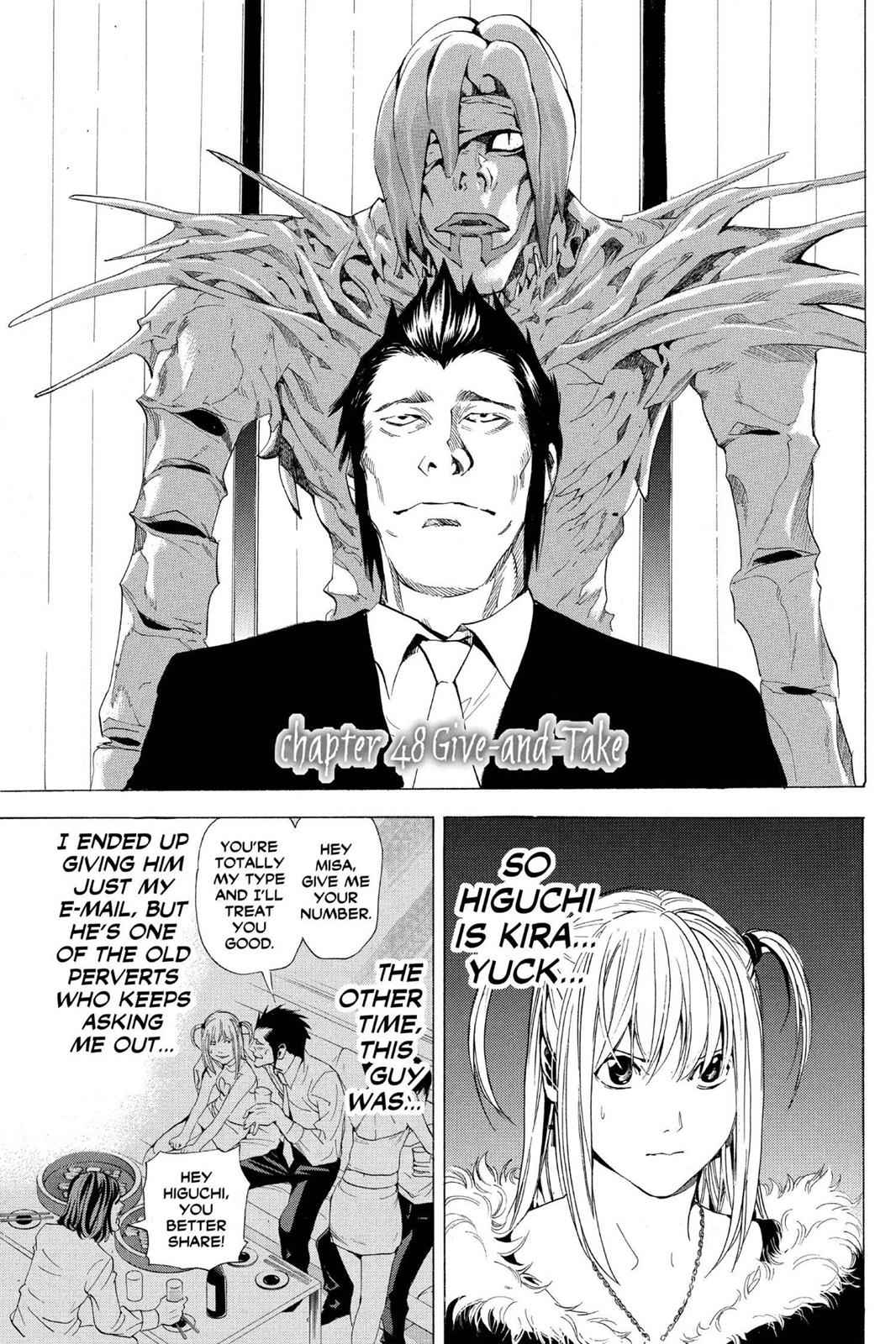 Death Note Chapter 48 Page 1