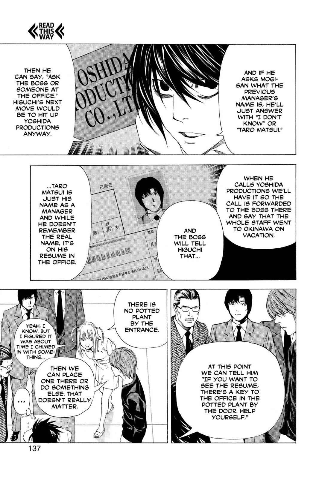 Death Note Chapter 49 Page 20