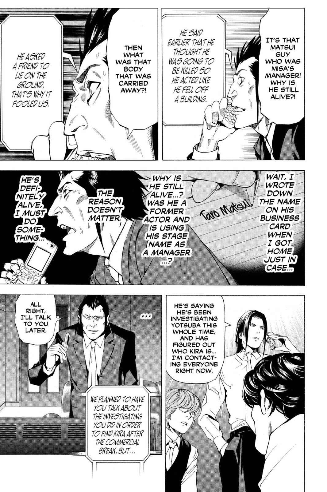 Death Note Chapter 50 Page 15